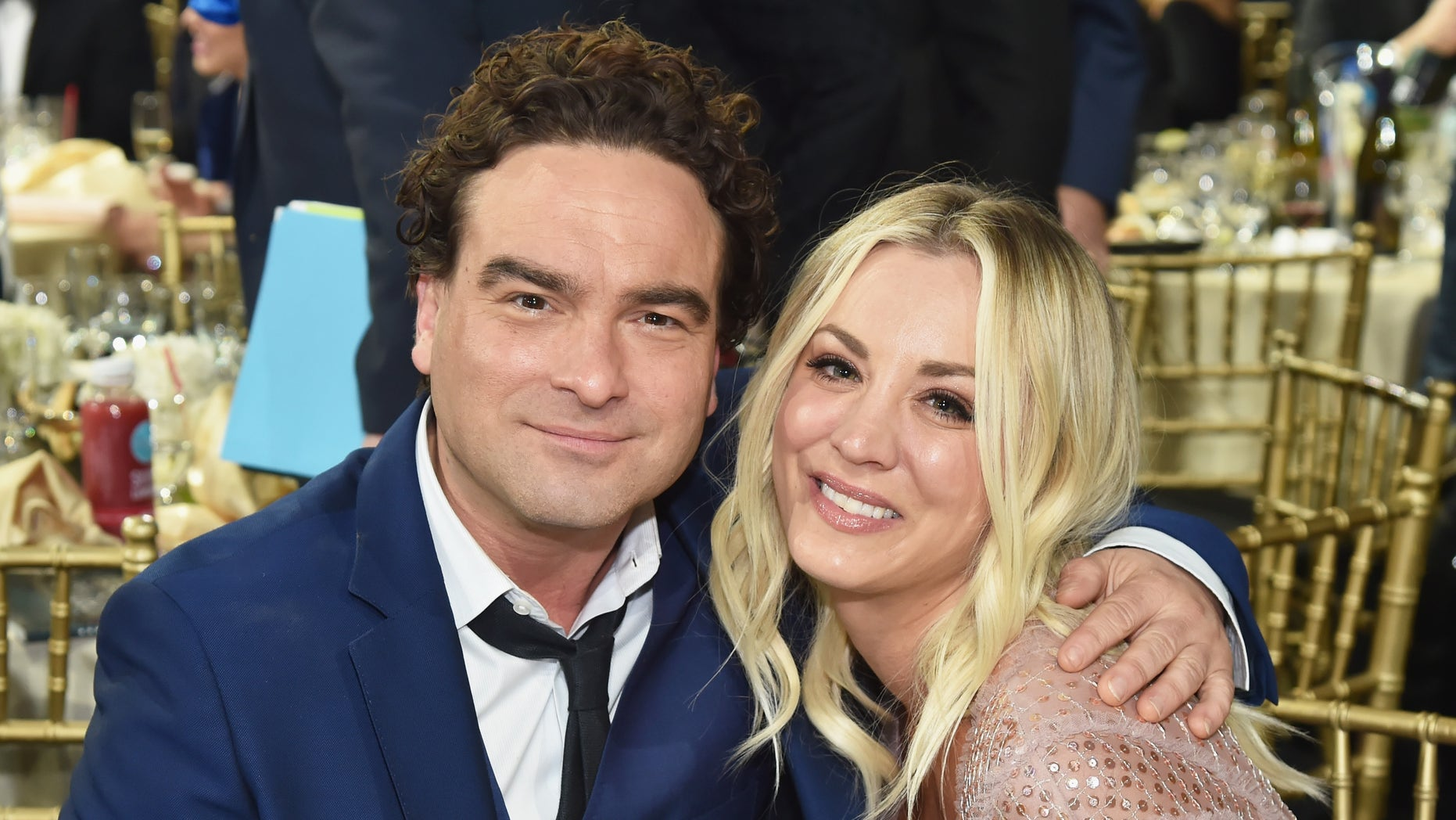 'Big Bang Theory' stars Johnny Galecki and Kaley Cuoco shared their thoughts on the finale of the show.