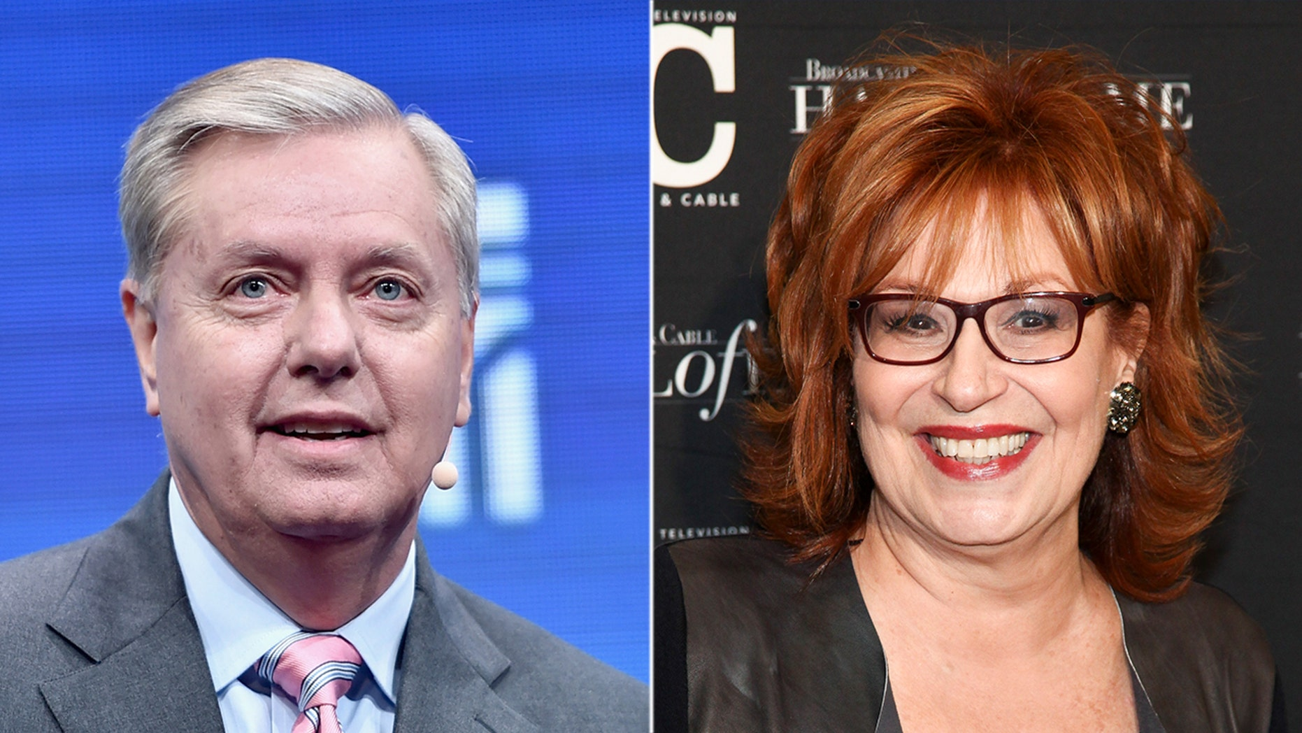 "Sen. Lindsey Graham ""needs to find his testicularity,"" according to ABC News' Joy Behar."