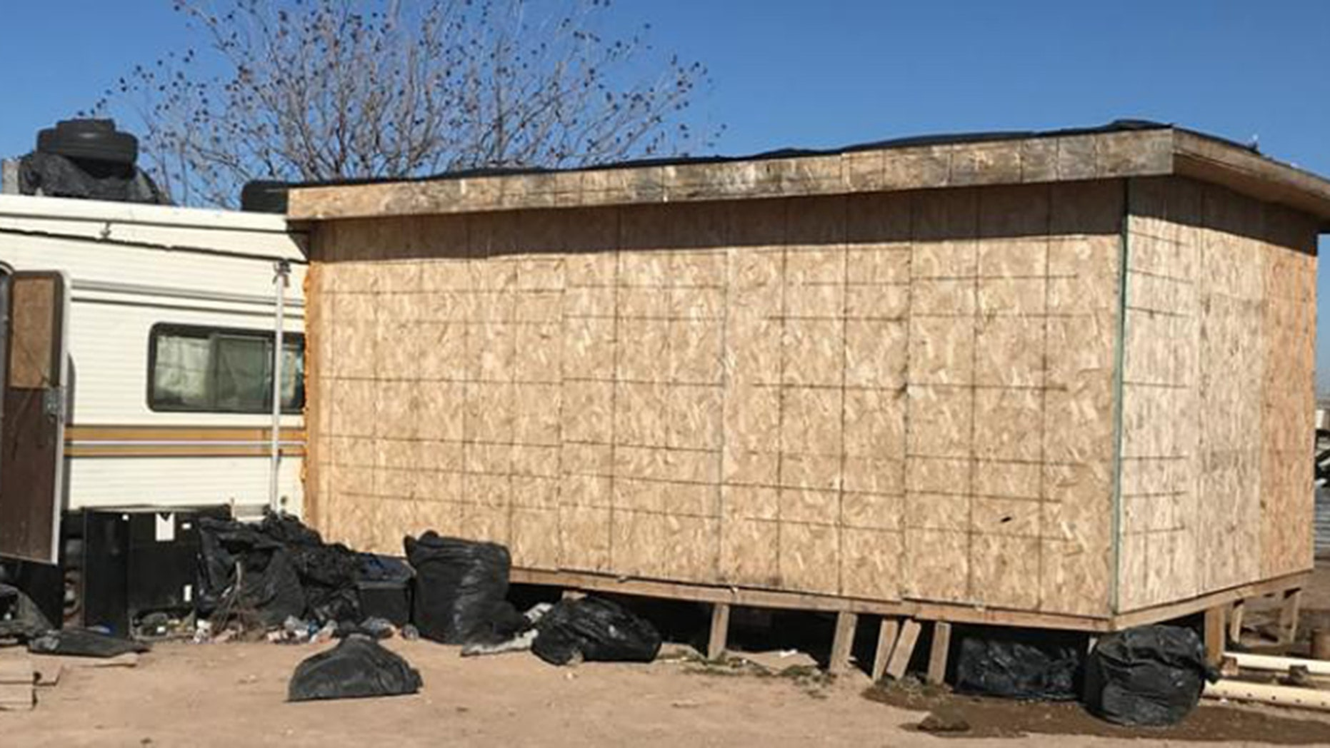 Sixty-seven illegal immigrants were found inside this New Mexico shed in deplorable conditions.