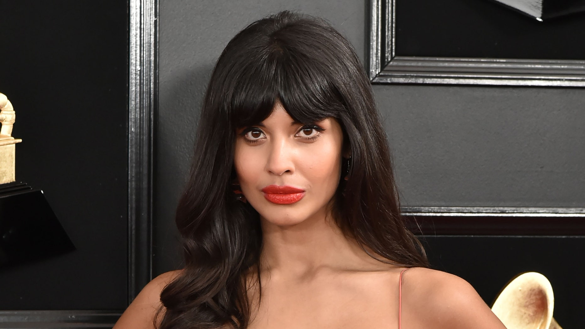 Jameela Jamil attends the 61st Annual Grammy Awards at Staples Center