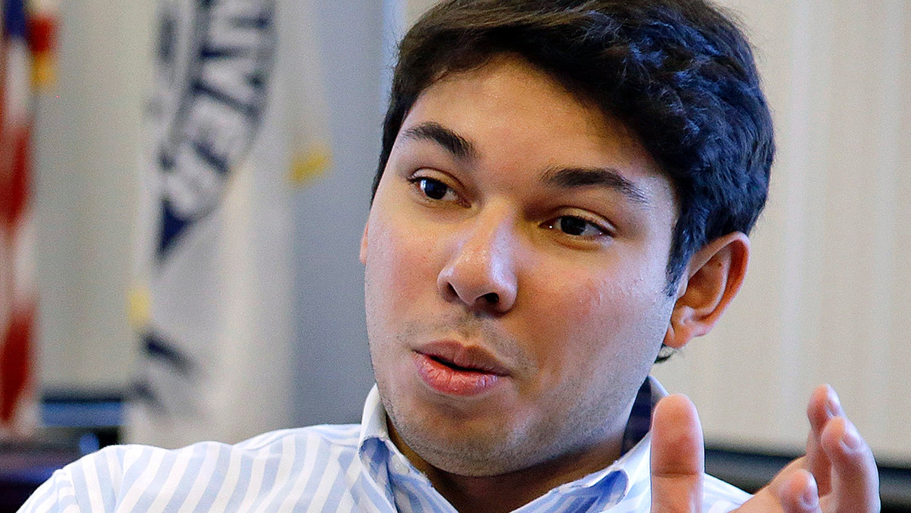 Fall River, Mass., Mayor Jasiel Correia, 27, was re-elected and recalled in astunning turn of events Tuesday. (Associated Press)