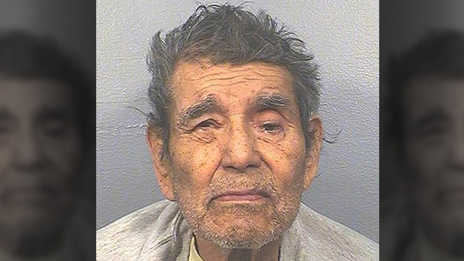 In this March 23, 2018, photo released by the California Department of Corrections and Rehabilitation is Juan Vallejo Corona. California State Prison-Corcoran inmate Corona, 85, died of natural causes on Monday, March 4, 2019, at an outside hospital. Corona was serving 25 concurrent life sentences for 25 counts of first-degree murder. His victims were all farm workers. (California Department of Corrections and Rehabilitation via AP)