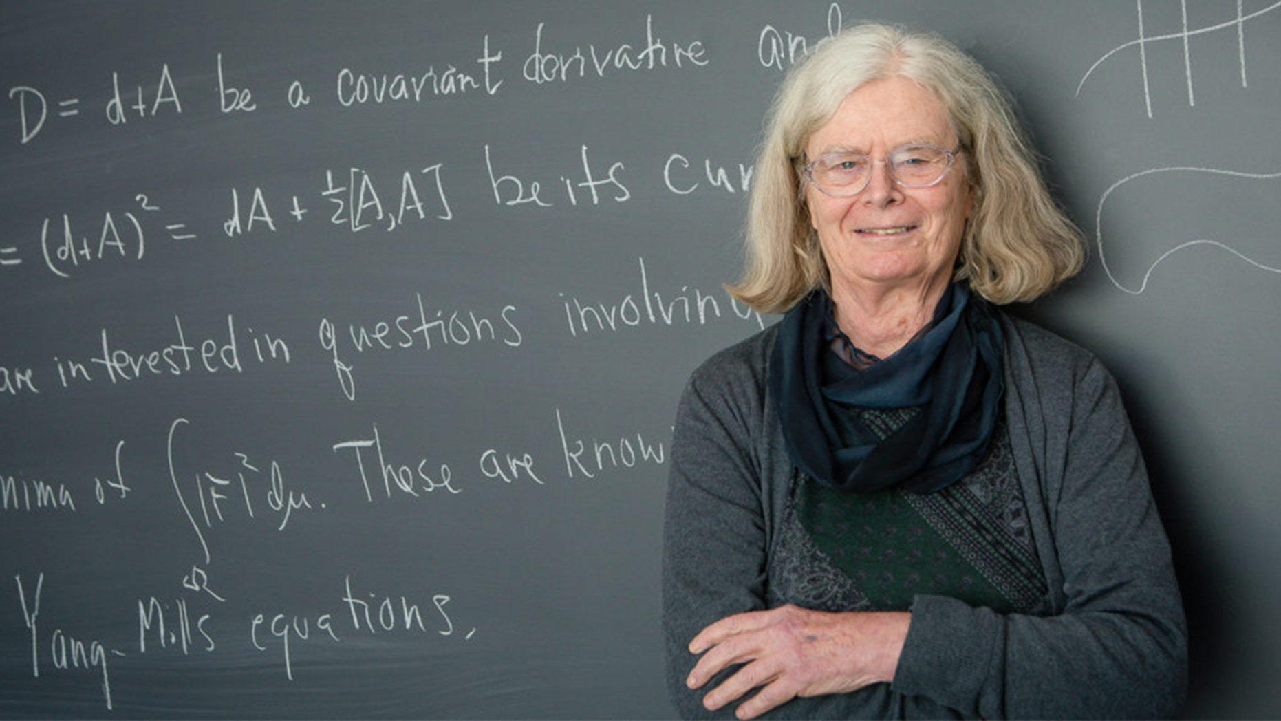 U.S. professor first woman to win 'Nobel for math'
