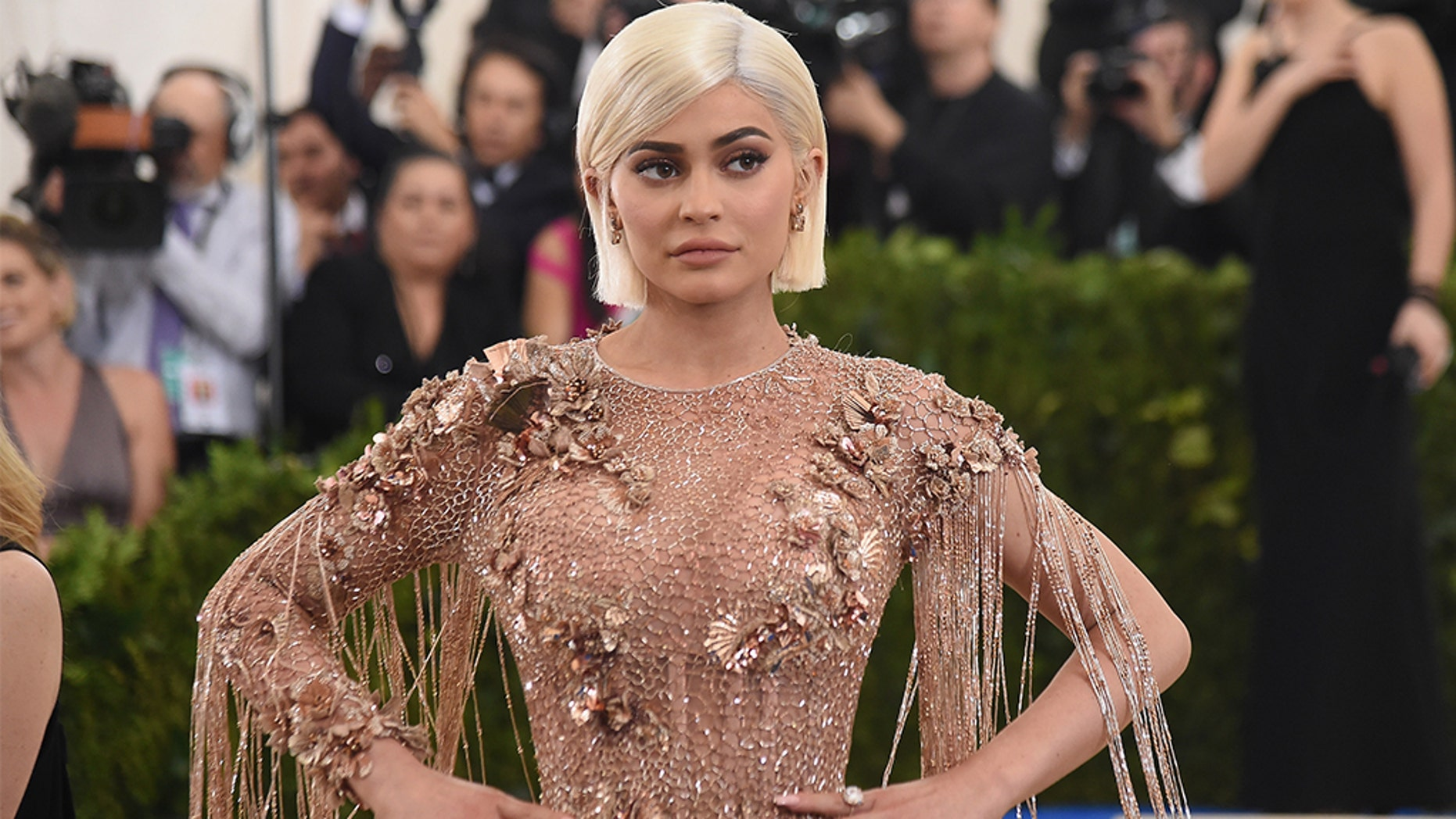 Kylie Jenner says daughter Stormi 'chose her own name'