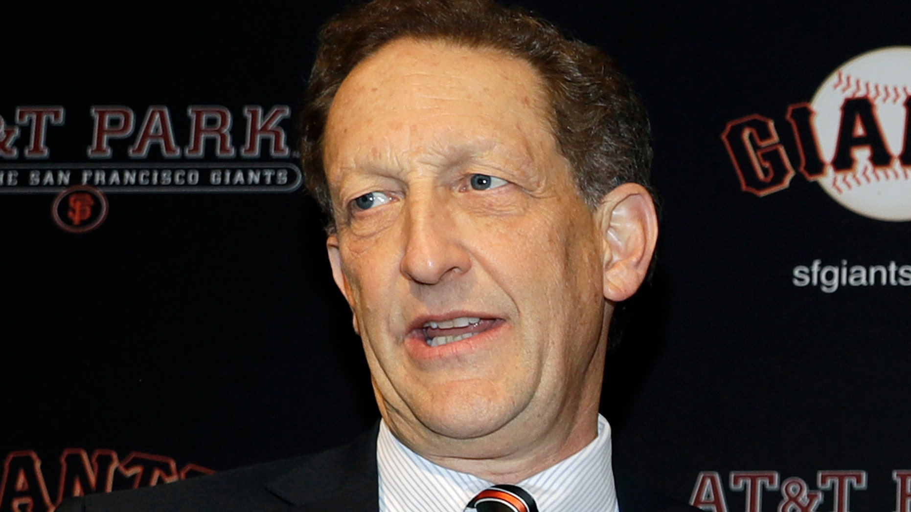 FILE - San Francisco Giants President and CEO Larry Baer will not face charges following a physical altercation with his wife earlier this month. (Associated Press)