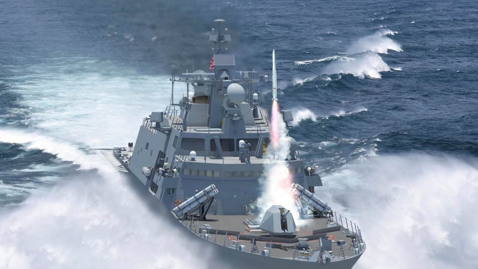 The U.S. Navy awarded Lockheed Martin a $15 million conceptual design contract for the FFG (X)