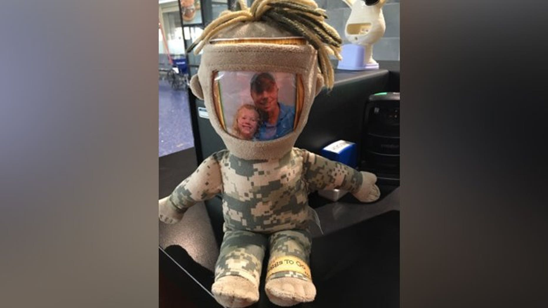 One Kansas youngster was thrilled to have her lost toy returned to her at Kansas City International Airport, thanks to the help of two vigilant women and a now-viral social media campaign.