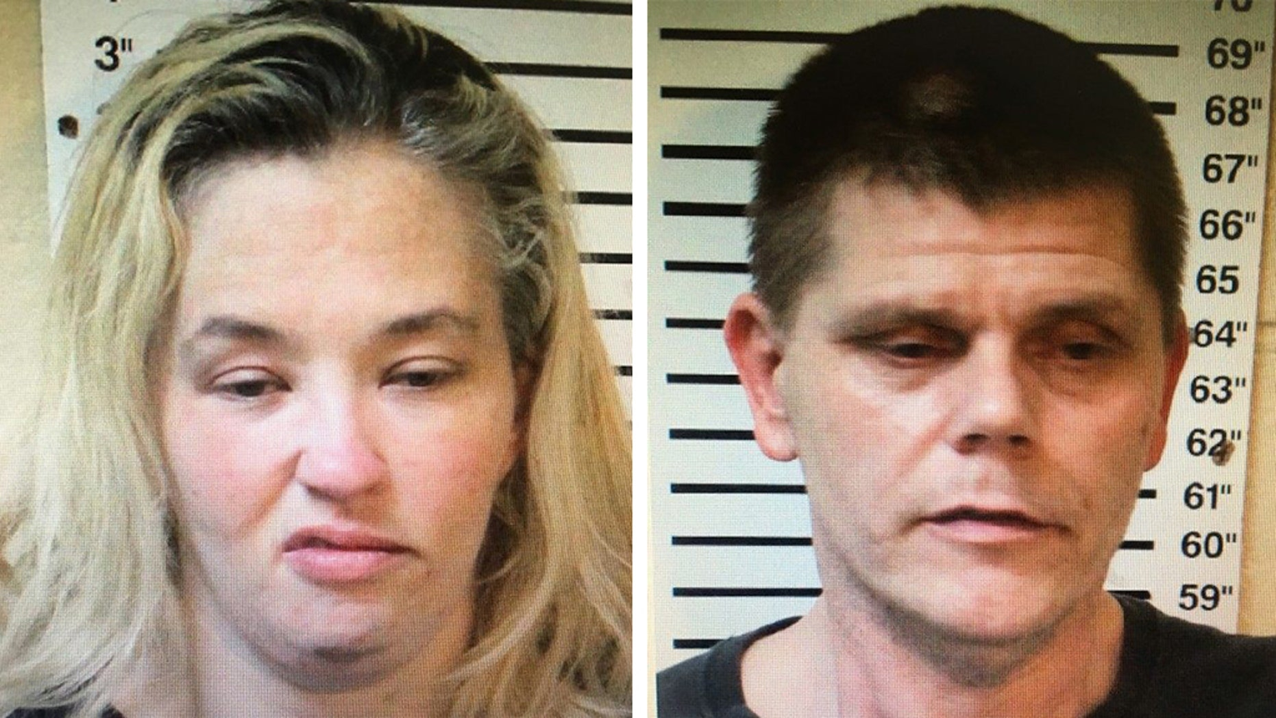 """Mama June"" and Eugene Doak were arrested on drug charges in Alabama on Wednesday, officials said."