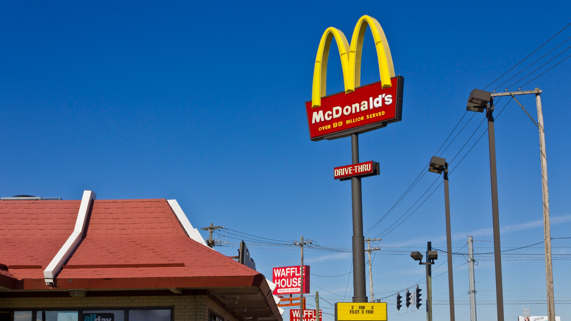 The McDonald's restaurant is reportedly cooperating with the investigation.