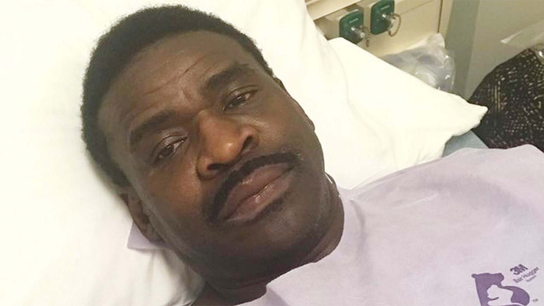 Michael Irvine revealed on Tuesday that he underwent tests for throat cancer. (Instagram/michaelirvin88)