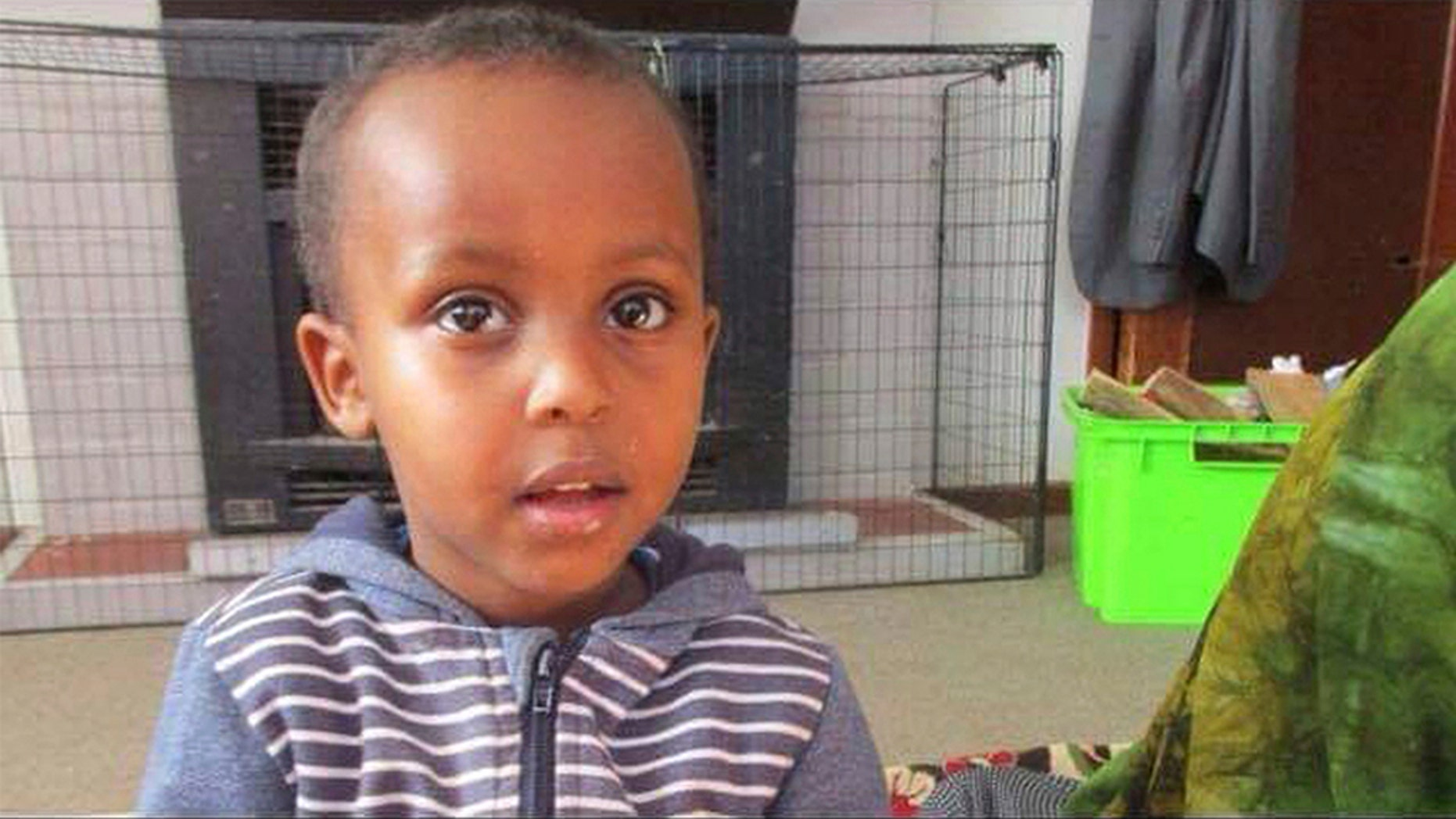Before he became the youngest known victim of Christchurch's mass shooting, 3-year-old Mucaad Ibrahim had possessed an intelligence beyond his years, and an affinity for his elders.(Abdi Ibrahim via AP)