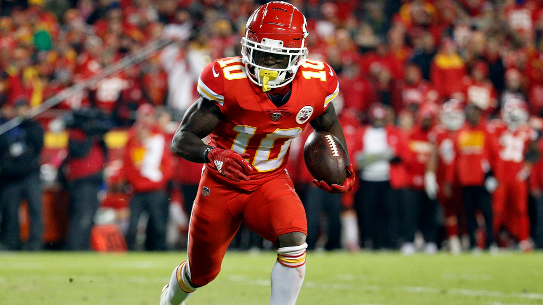 Kansas City Chiefs' Tyreek Hill reportedly investigated ...