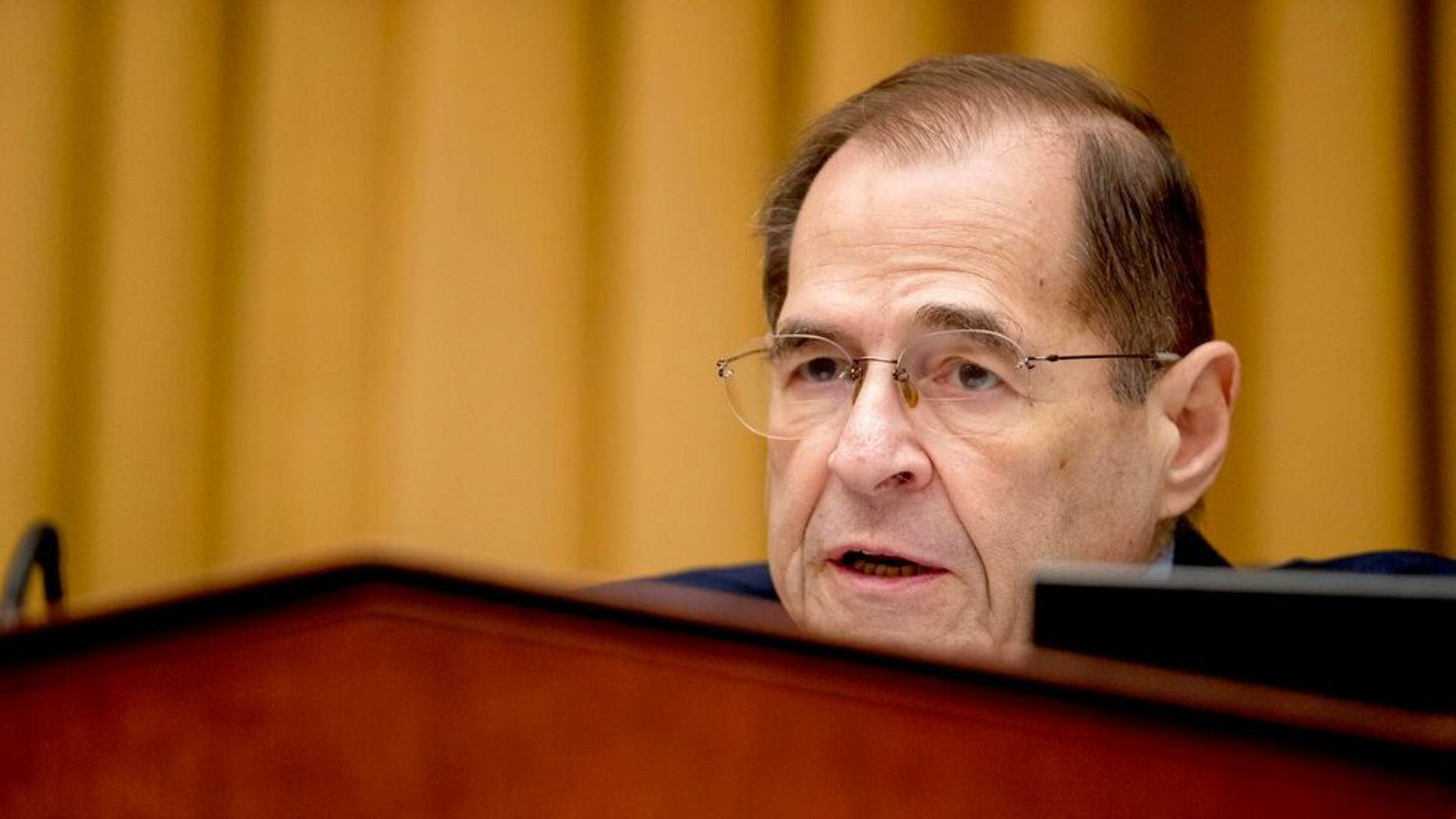 FILE - On Friday, February 8, 2019, in the photo system, the Judge Committee Chairman Jerrold Nadler, DN.Y., Advocate General Matthew Whitaker, as appearing in Washington, before the Capitol Hill House Judicial Committee a. The Democrats formulated by their new majority are conducting a wide range of new investigations into President Donald Trump and defining the Robert Müller world. Nadler helped drive the prize to put pressure on the Ministry of Justice to release Mueller's full report to the public. (AP photo / Andrew Harnik, file)