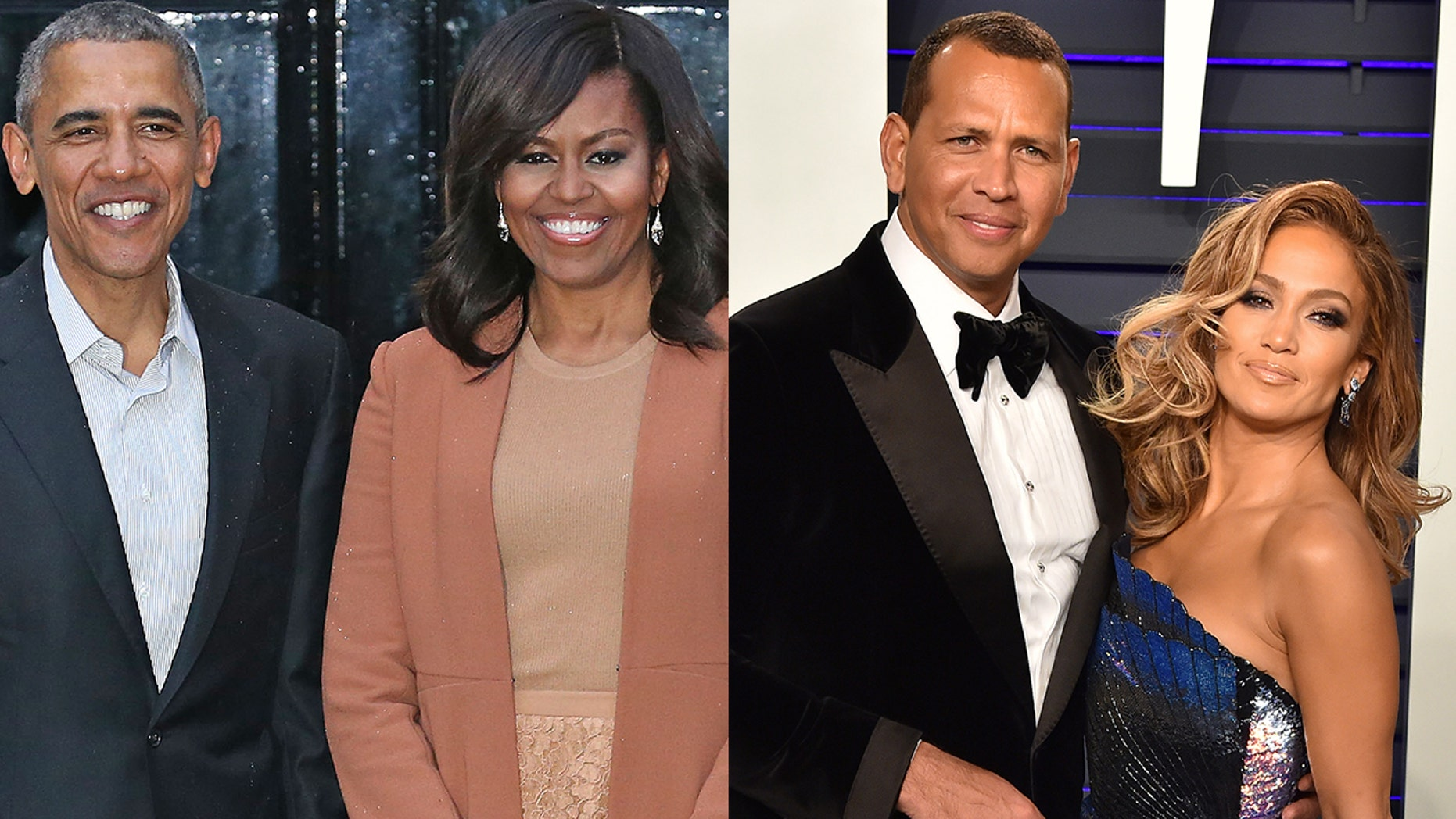 Barack and Michelle Obama Congratulate Jennifer Lopez and Alex Rodriguez on Engagement