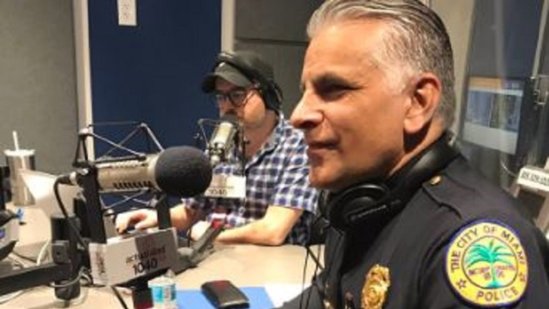 Miami Police ChiefJorge Colina publicly opposed an anti-sanctuary state bill during a Friday radio interview.