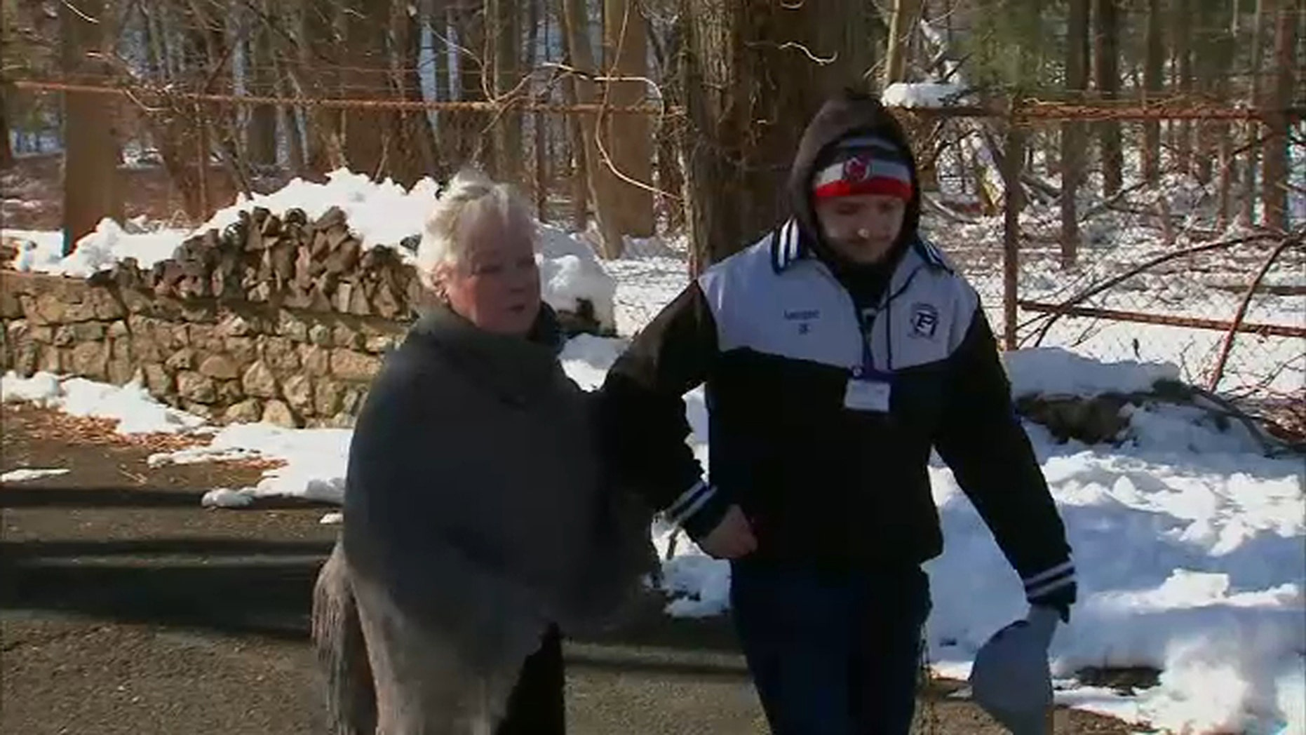 Five young men in New Jersey stepped up on a recent snow day to ensure that a neighbor on kidney dialysis would be able to make it to her daily appointment. Patrick Lanigan (pictured above) rallied his friends to shovel out the woman's driveway.