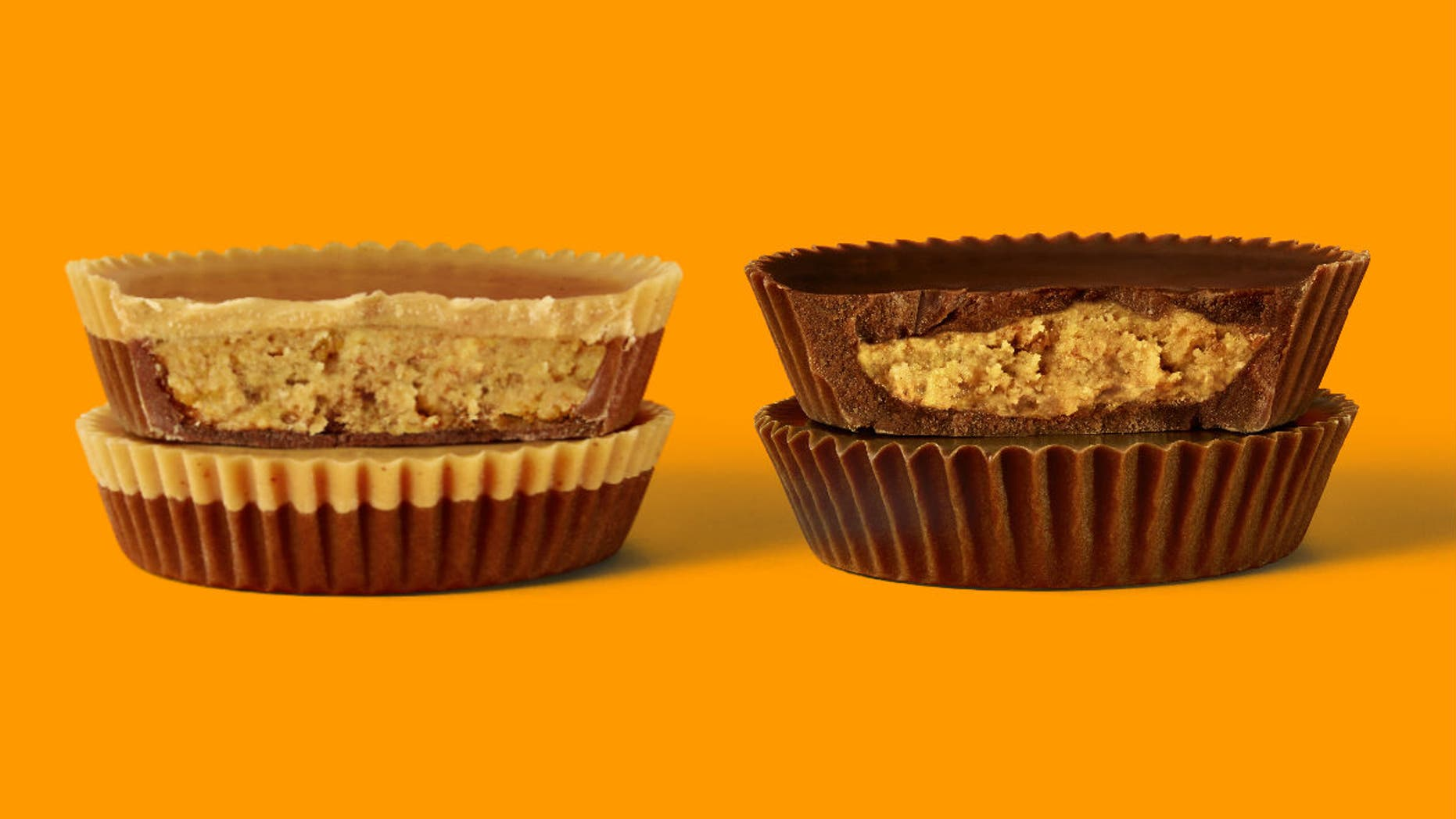 Reese's Lovers Cups will be available to the public in regular and king-size starting mid-April 2019.<br>