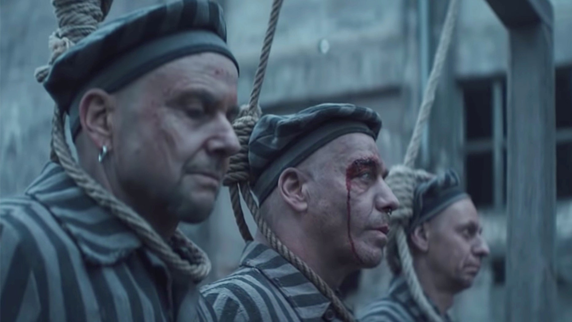 The German hard rock band Rammstein sparked criticism when they released a video promoting the new single