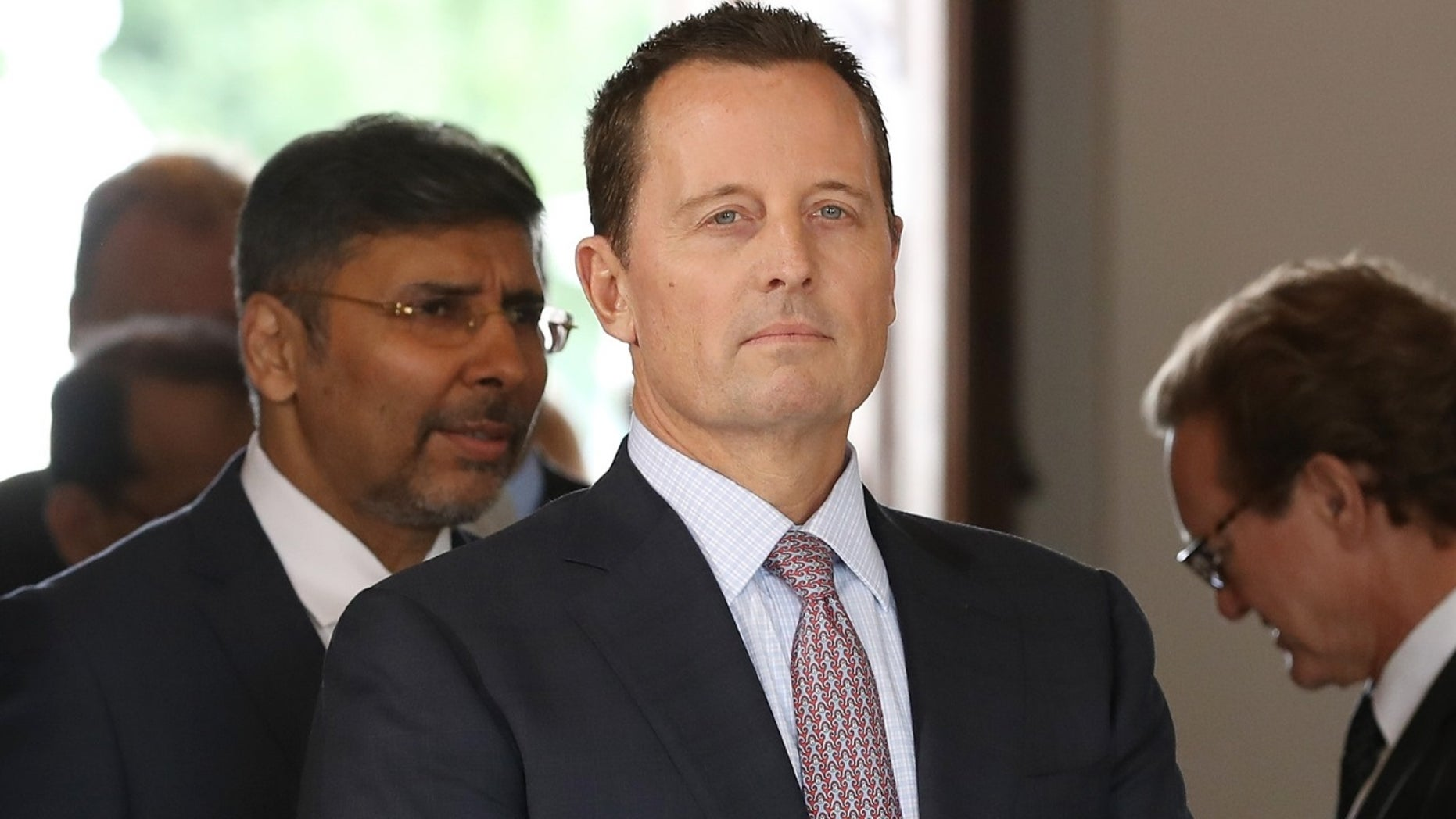 U.S. Ambassador Richard Grenell commented on Germany's defense spending target.