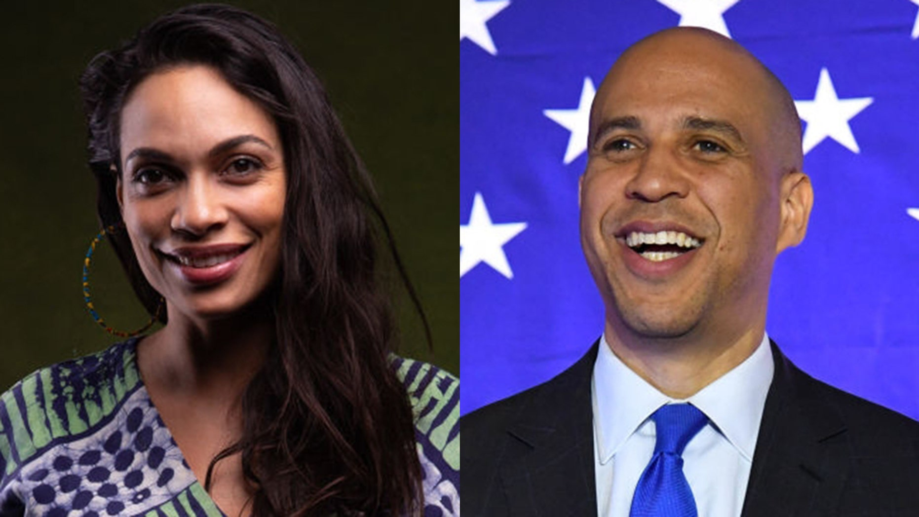 Sen. Cory Booker, the New Jersey Democrat who's launched a bid for the White House in 2020, is reportedly dating actress Rosario Dawson.