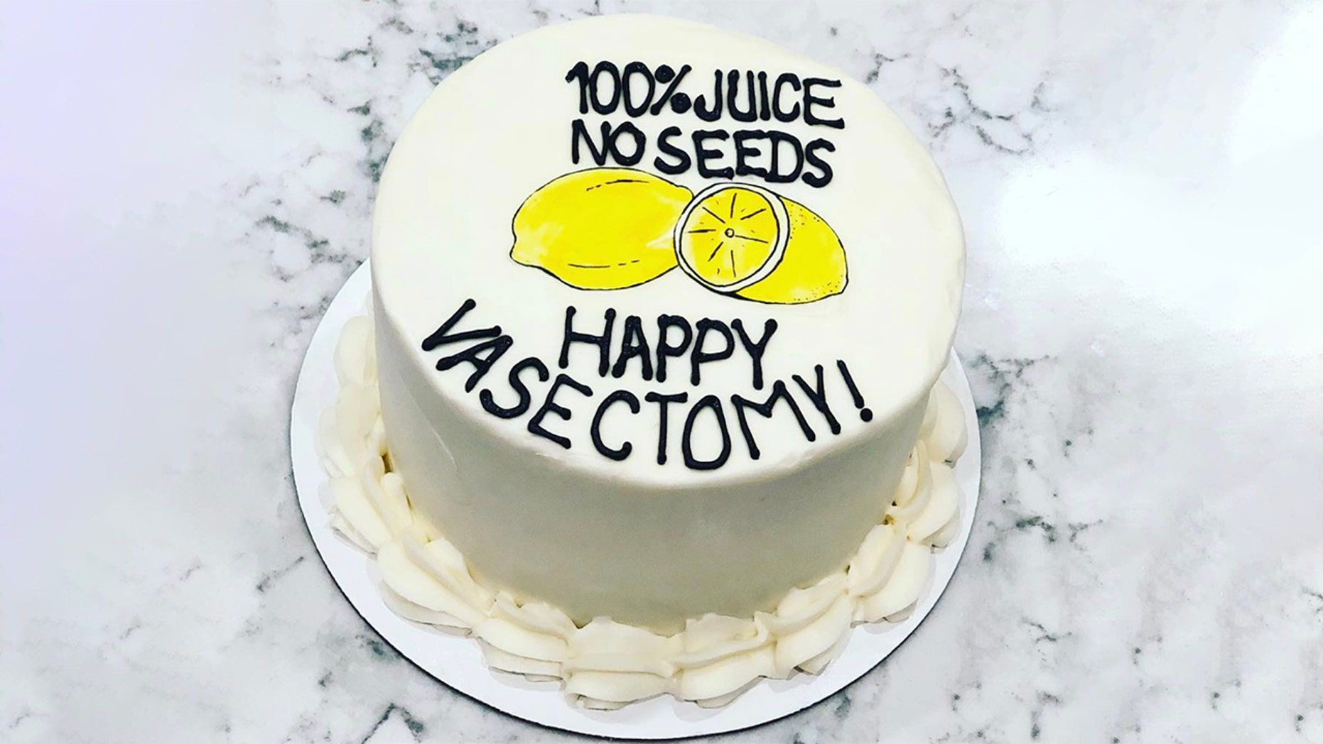 Signature Desserts went viral this week for creating a cake to honor a man's vasectomy.
