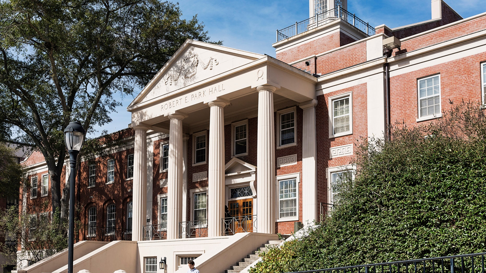 ATHENS, GEORGIA, UNITED STATES - 2015/11/13: Park Hall on the University of Georgia campus. (Photo by John Greim/LightRocket via Getty Images)