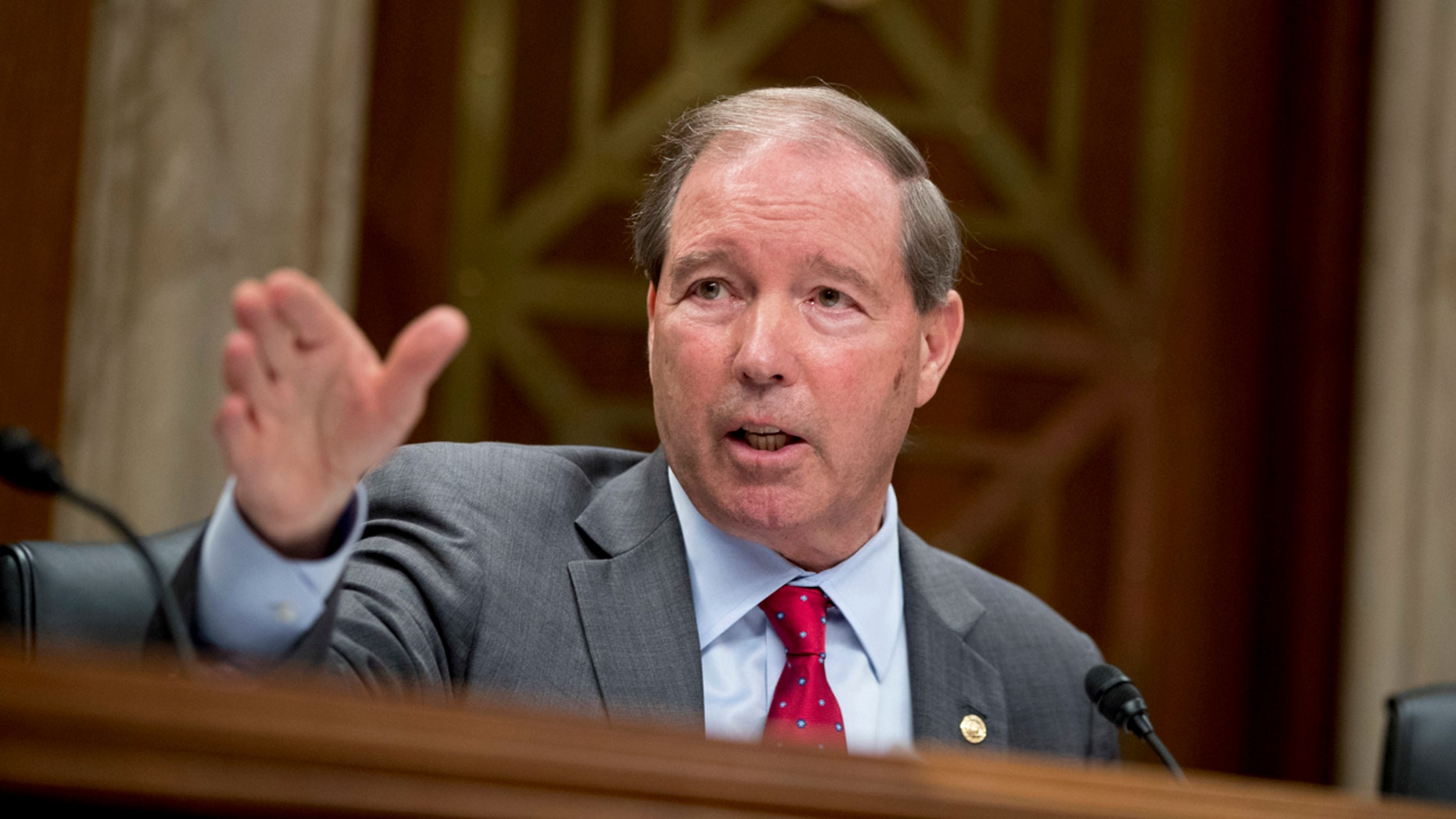 Sen. Tom Udall, D-N.M., seen here in 2018, announced he won't seek re-election. (AP Photo/Andrew Harnik, File)