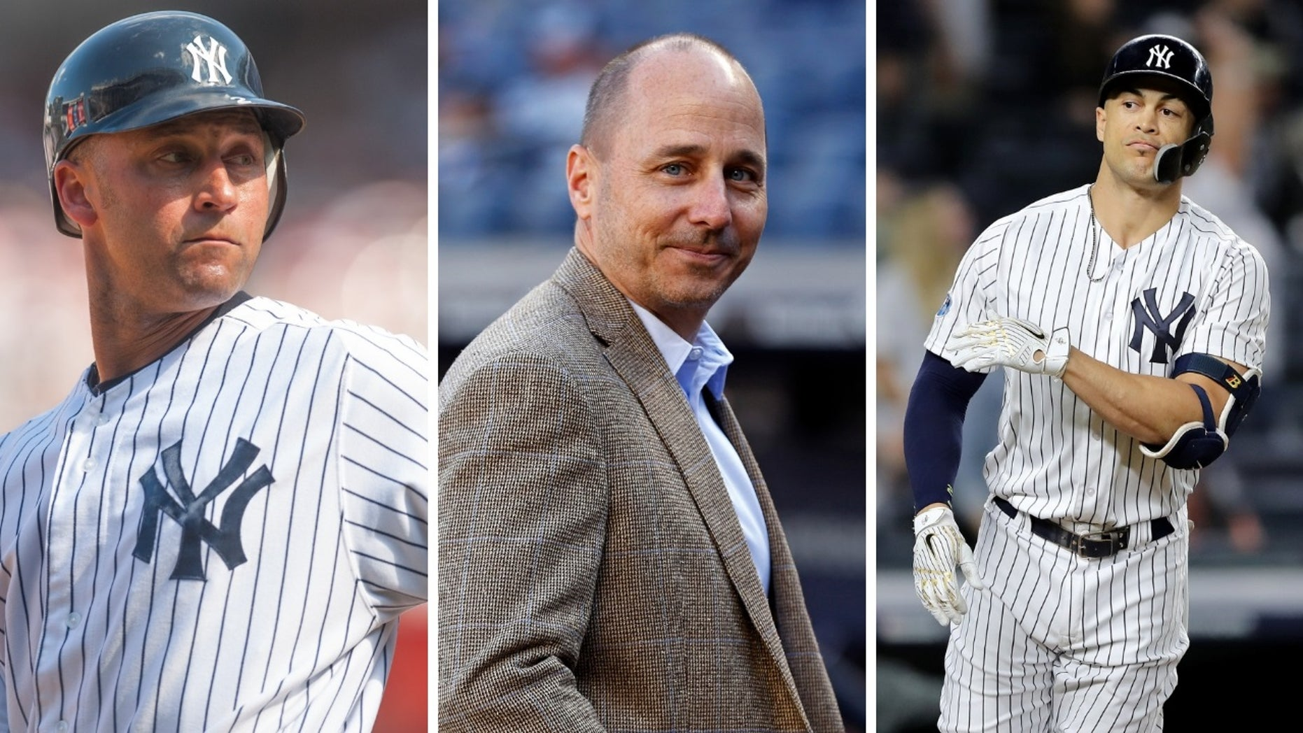 "A new book, ""Inside the Empire: The True Power Behind the New York Yankees"" shows a number of prominent officials in the Yankees including star slugger Giancarlo Stanton have less than nice things to say about former Yankees superstar Derek Jeter."