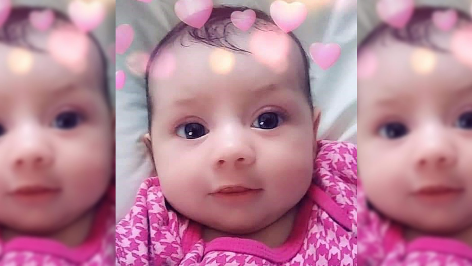 Indianapolis police are searching for 8-month-old Amiah Robertson, last seen alive March 9 with her mother's boyfriend.