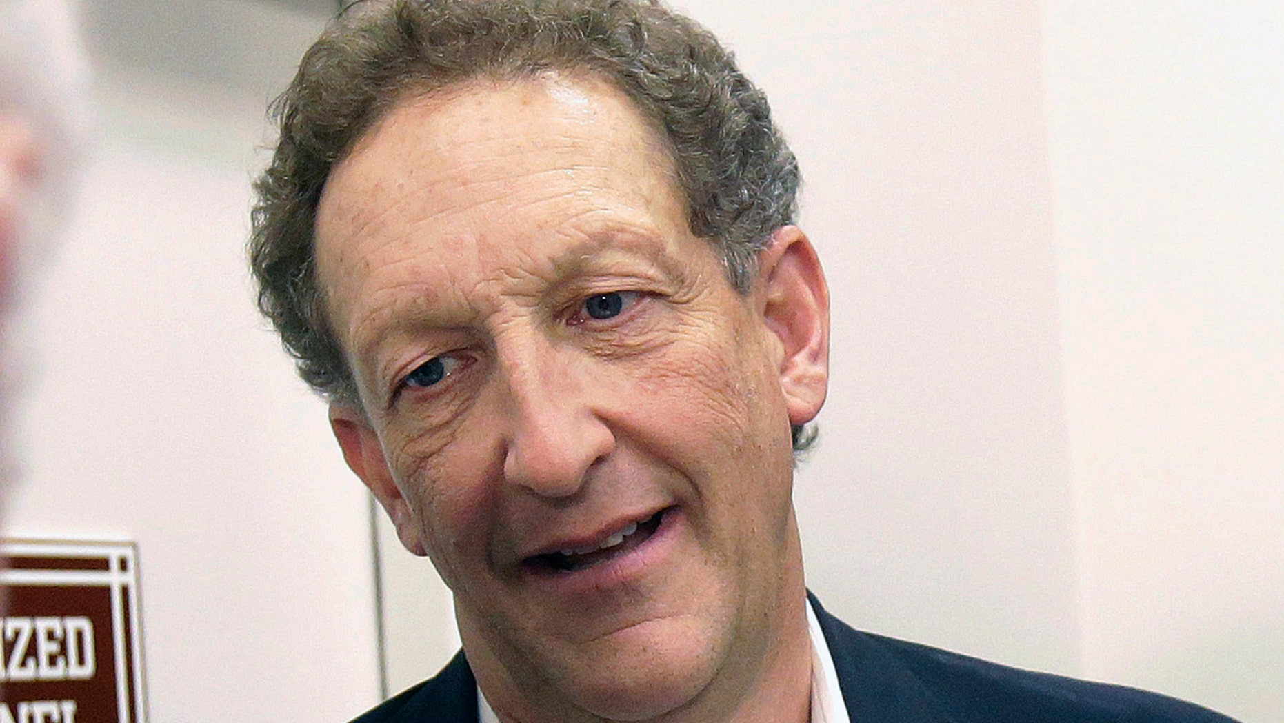 FILE - In this Monday, Oct. 5, 2015 file photo, San Francisco Giants president and CEO Larry Baer speaks to reporters after a news conference in San Francisco.