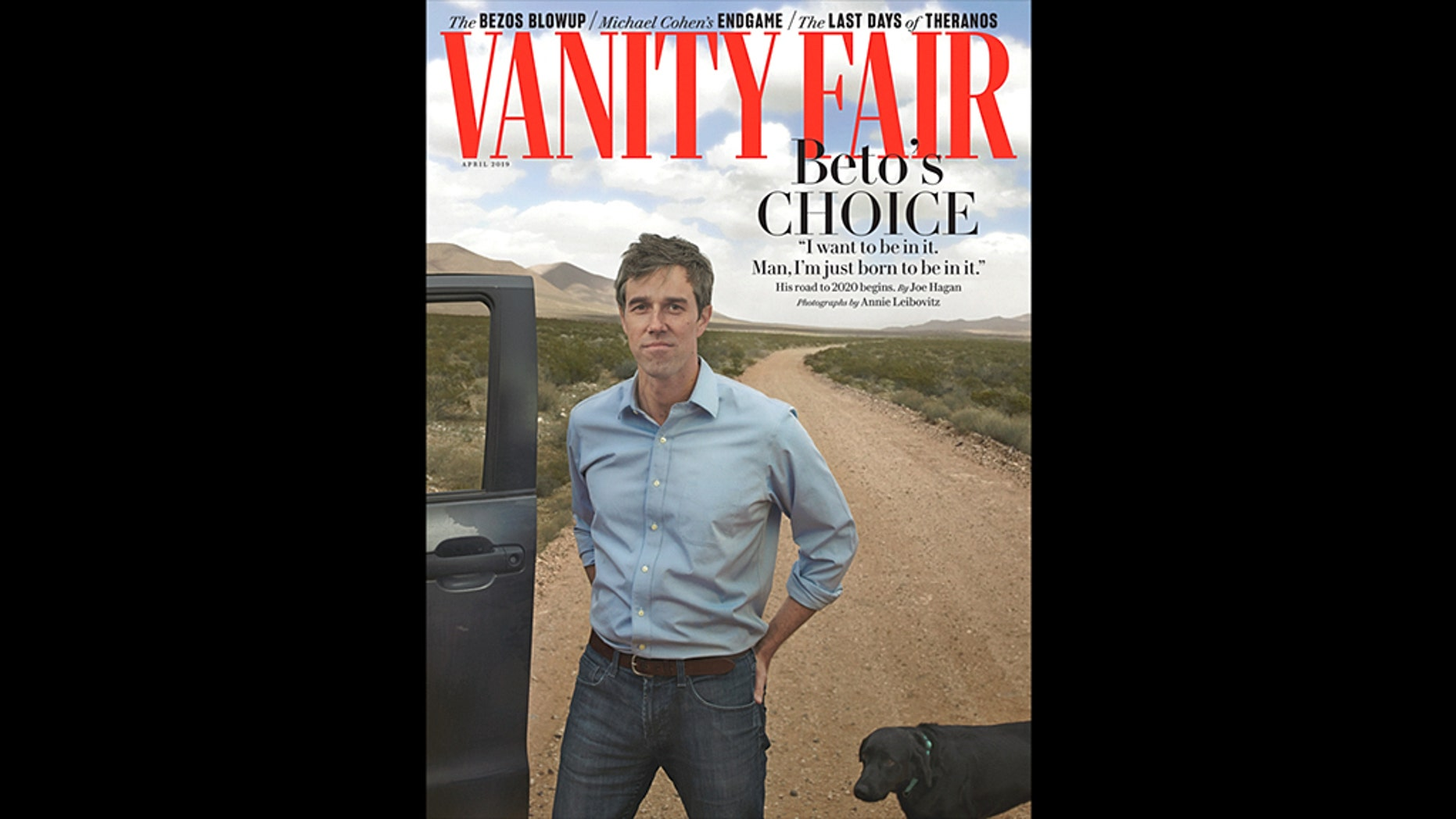 MSNBC host Chris Matthews is a huge fan of Beto O'Rourke's new Vanity Fair cover.