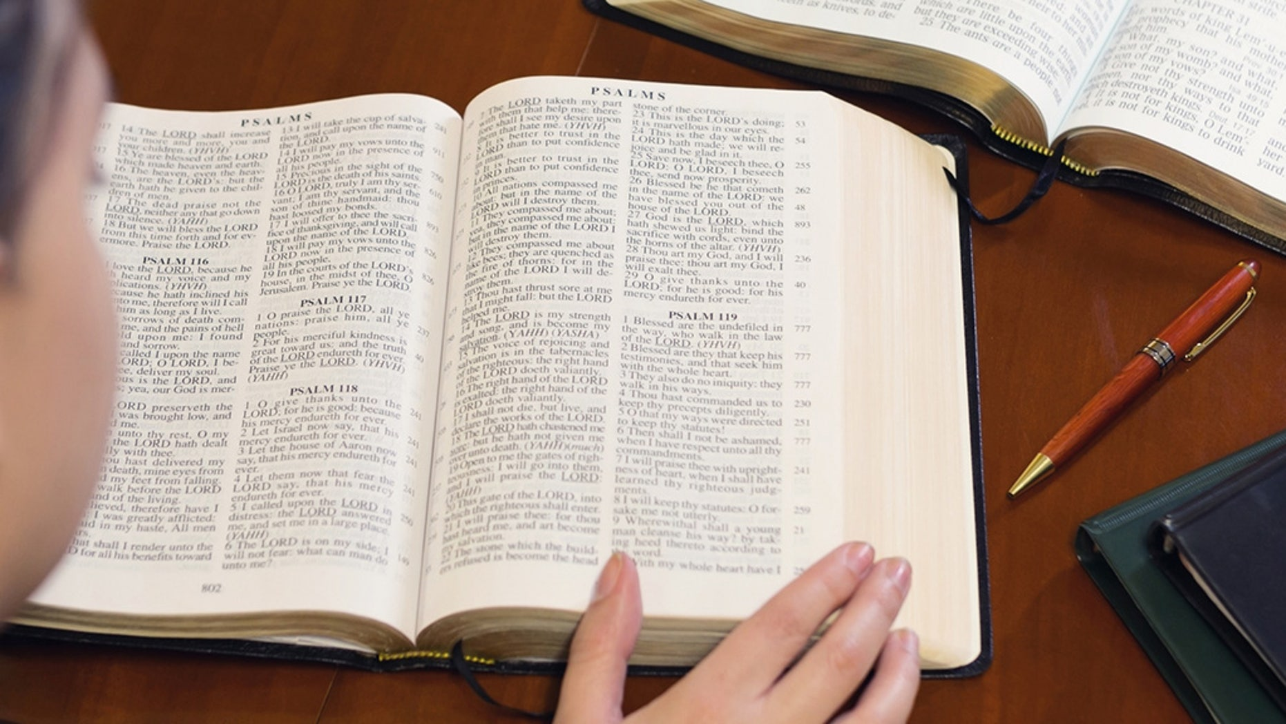 Studying the Word of God (iStock)