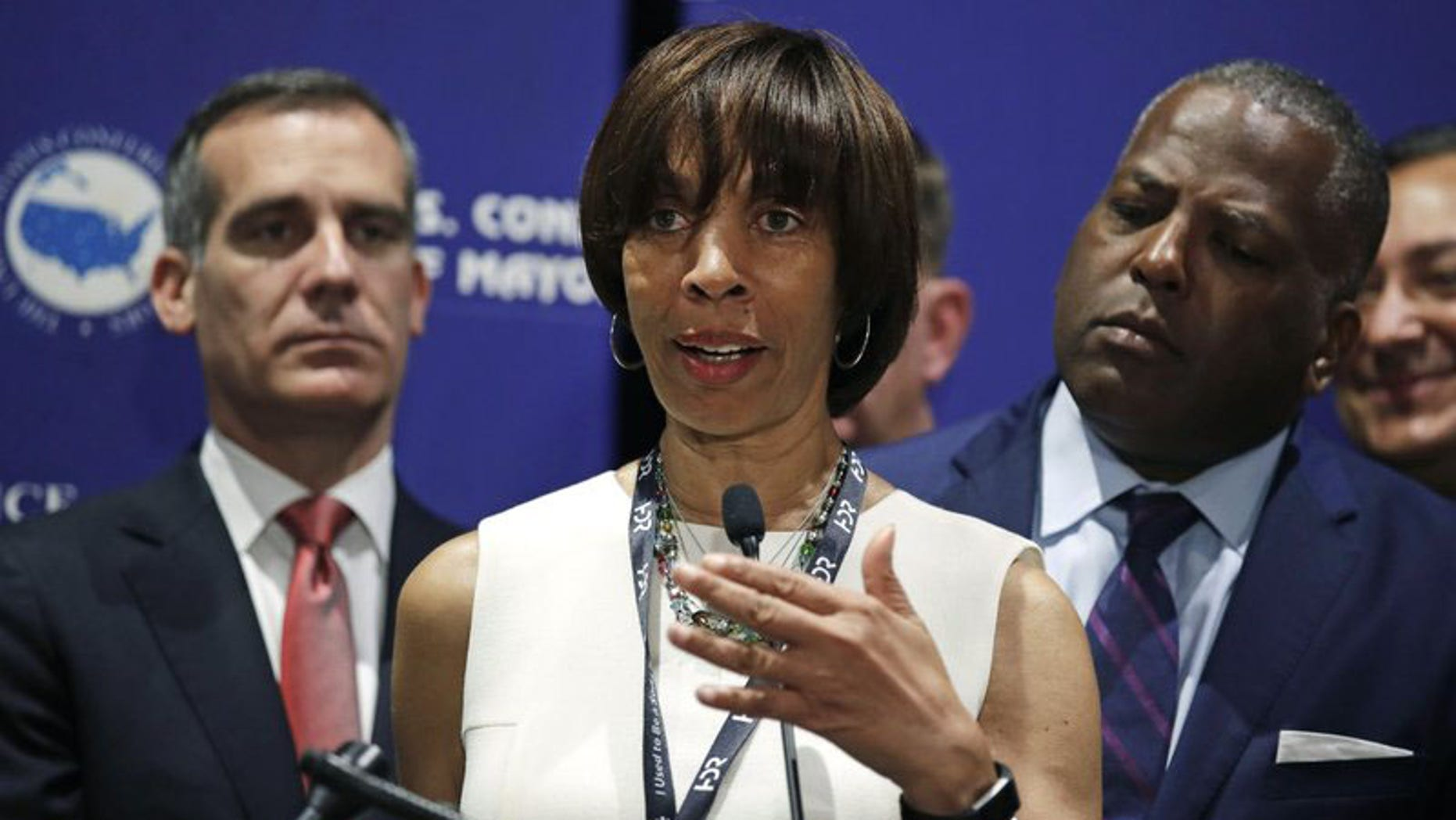 Democratic Mayor Catherine Pugh was elected in 2016. Before that, she served as a state senator.