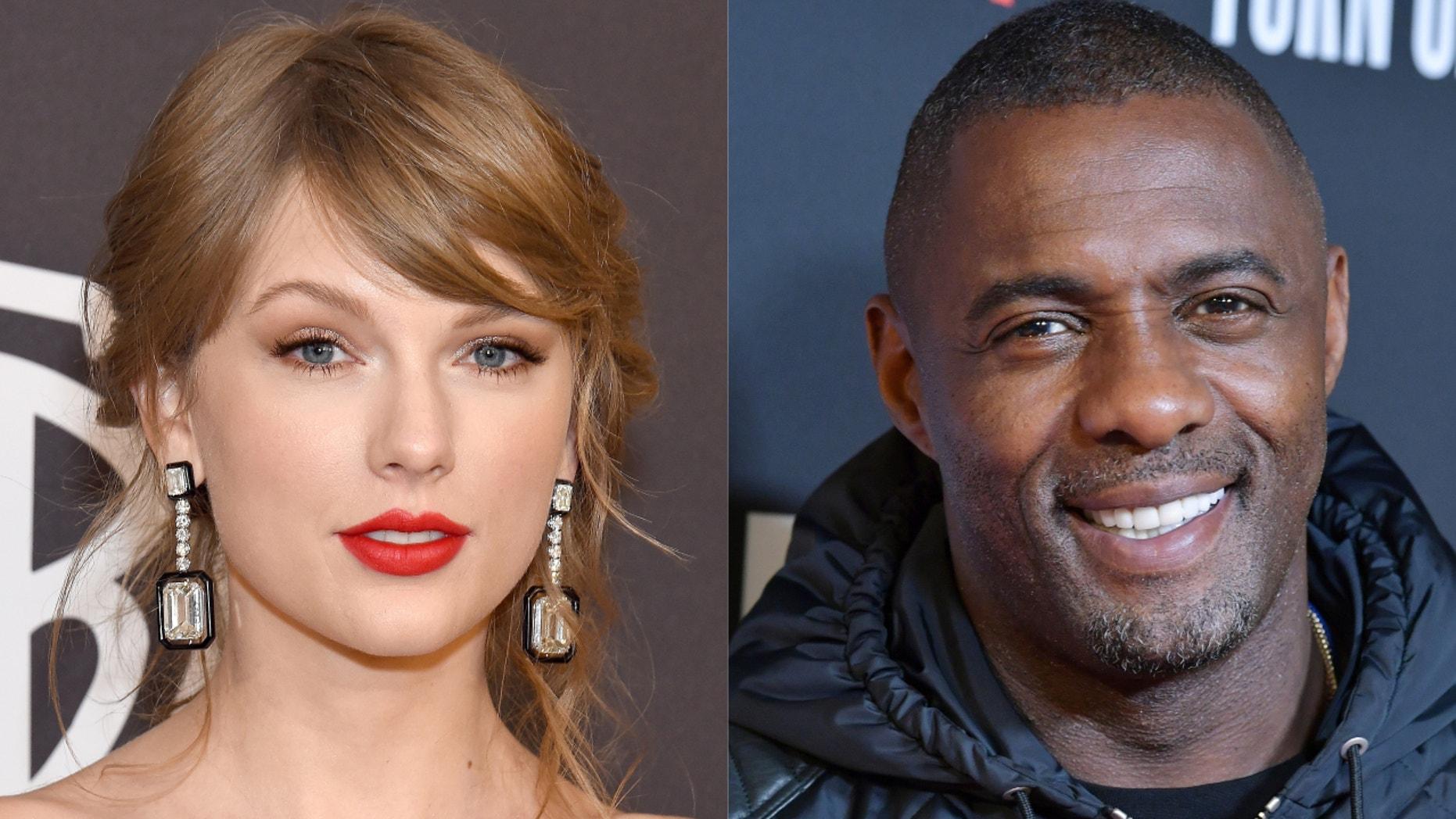 """Cats"" stars Taylor Swift and Idris Elba"