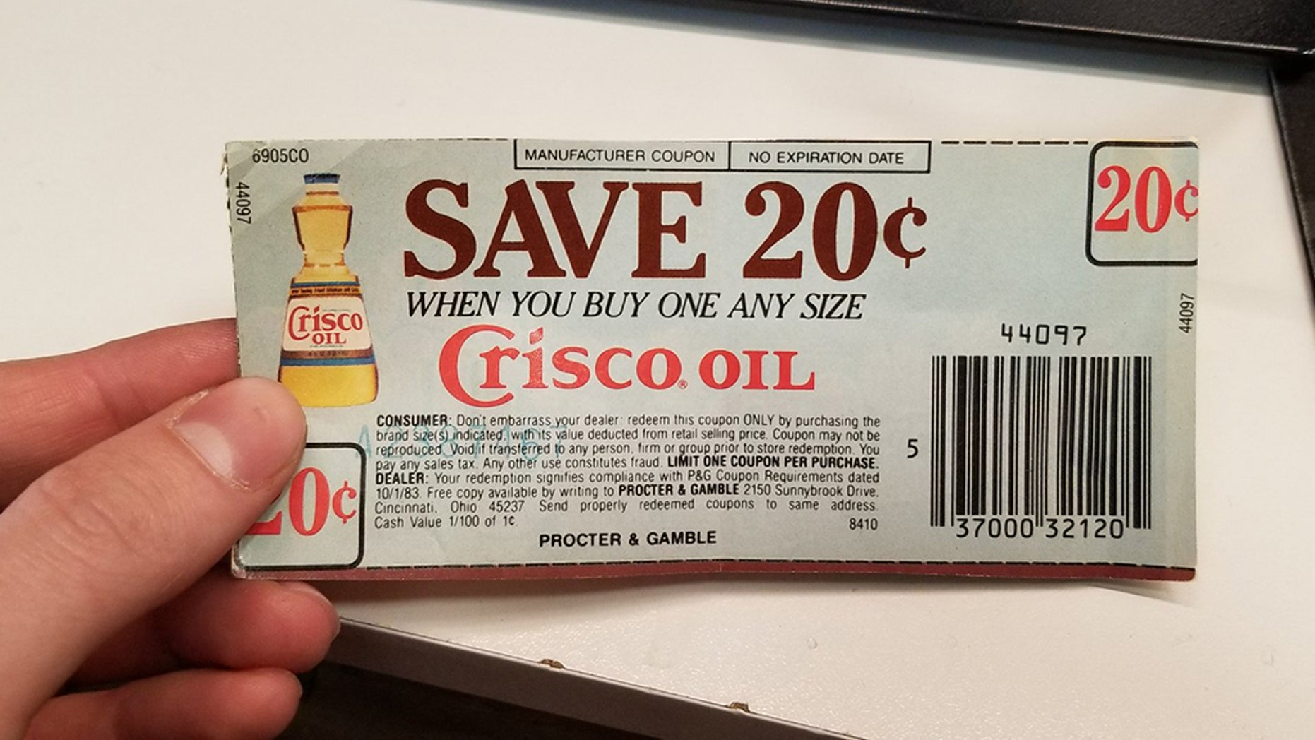 "A supermarket employee shared a photo of the coupon, which has ""no expiration date."""