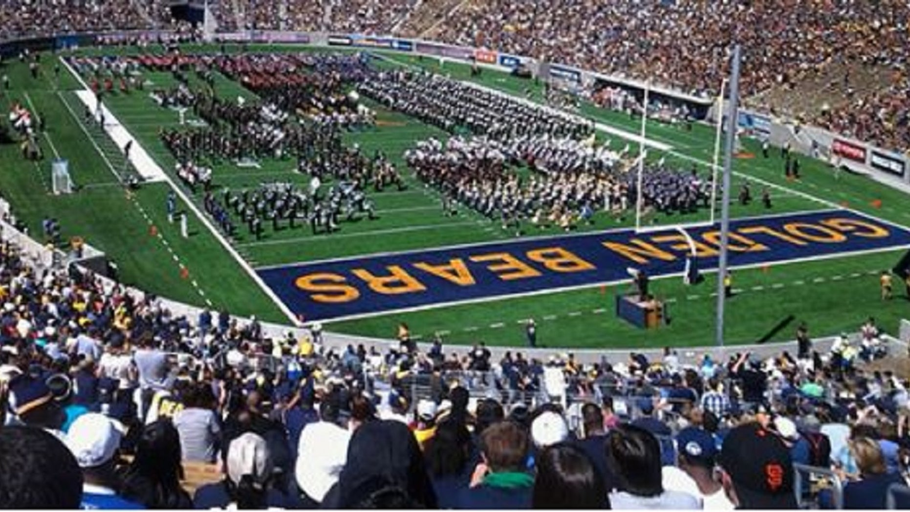 A woman has accused football players and coaches at theUniversity of California at Berkeley of sexual harassment in a social media post.