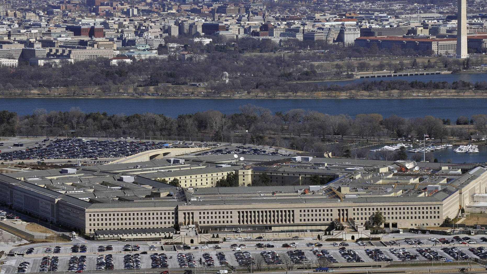 Image of the Pentagon by Senior Airman Perry Aston