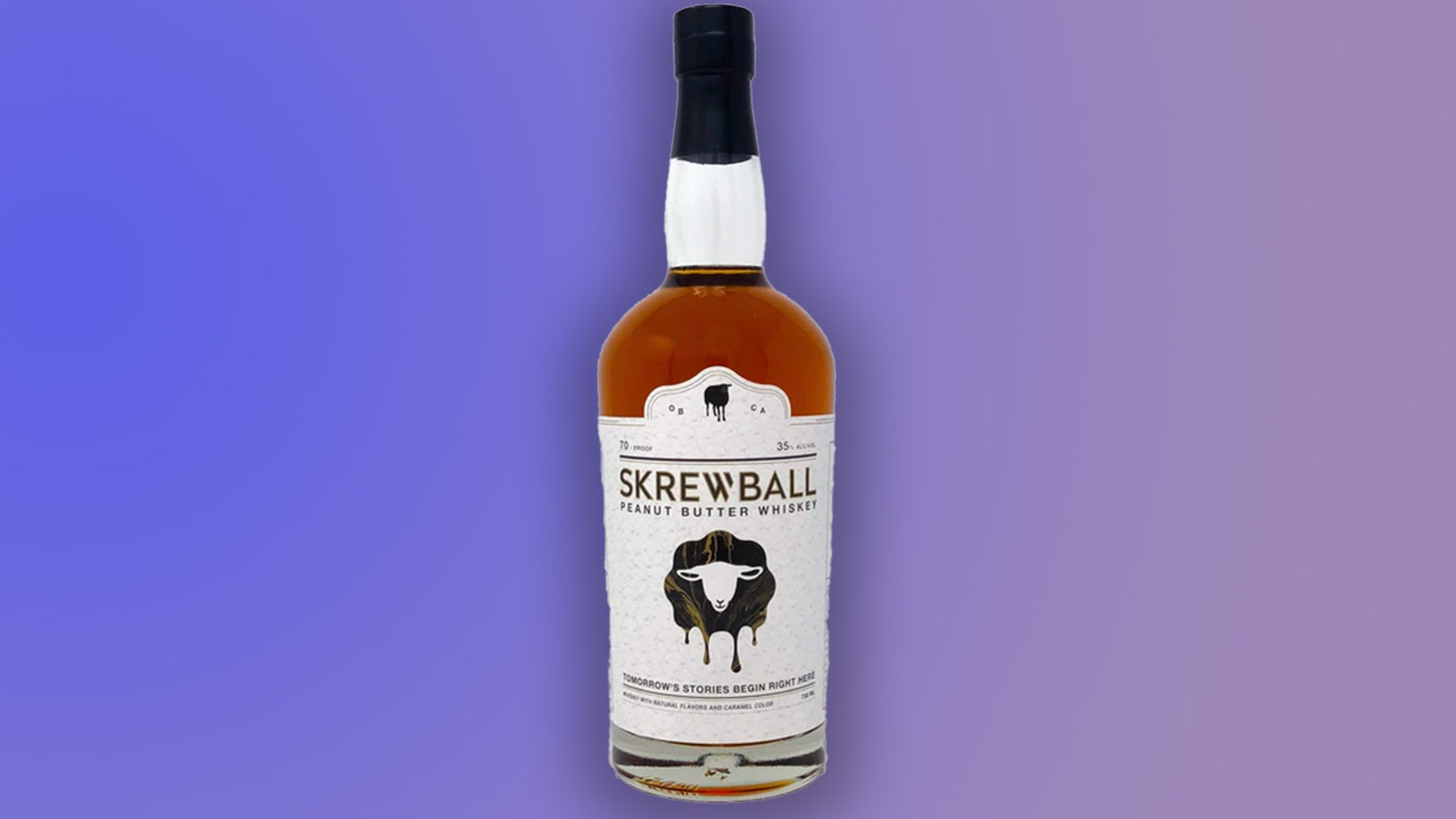 """Theveganandgluten-freeboozy beverage was recently awarded a double gold medal for """"Best Flavored Whiskey."""""""