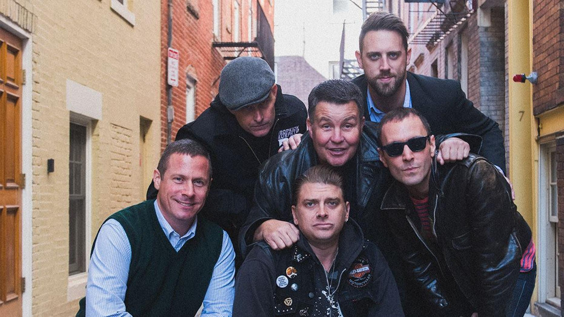 Ken Casey, center, and the other members of Dropkick Murphys. (Facebook)