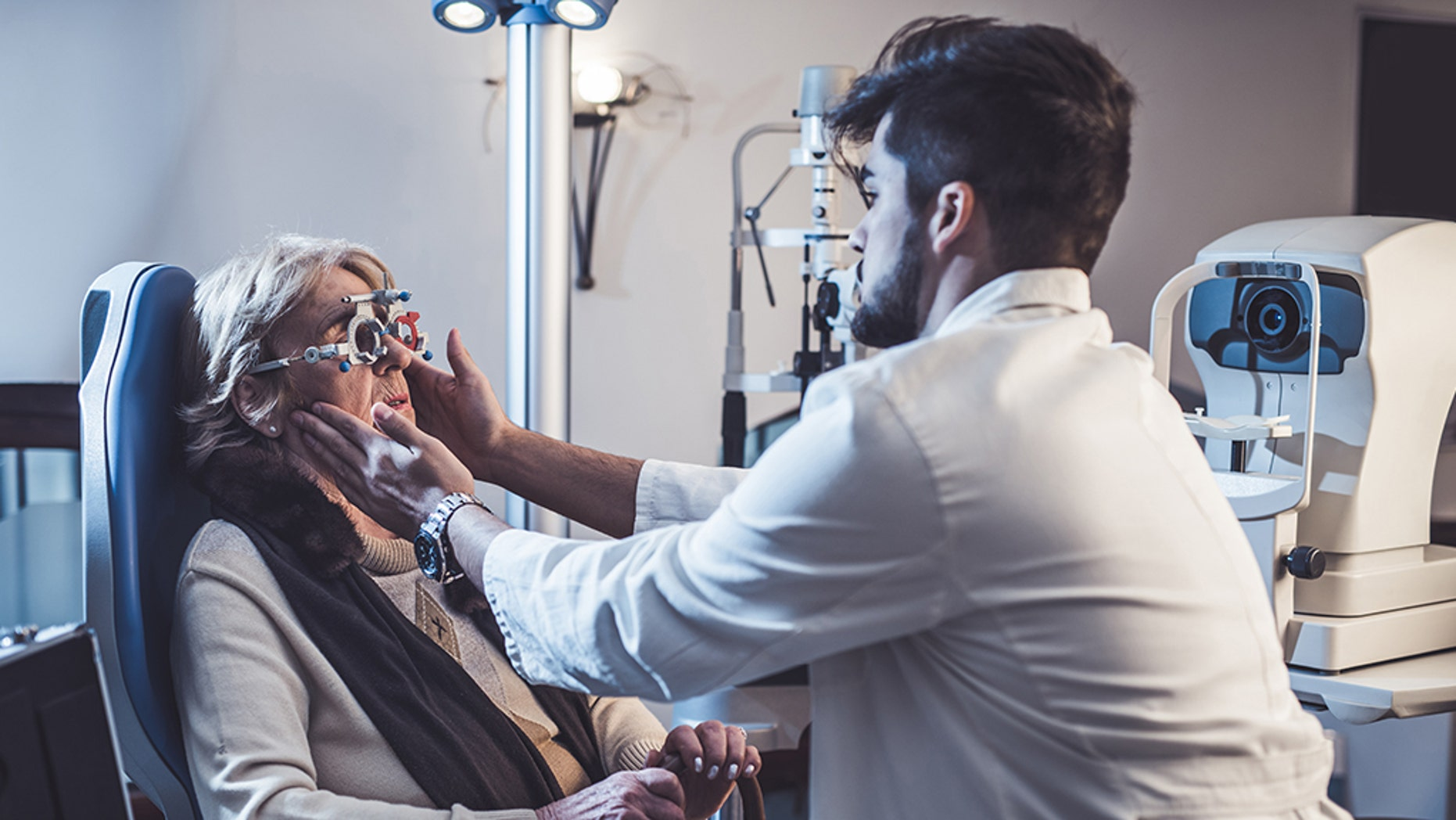 How a simple eye test can predict onset of disease