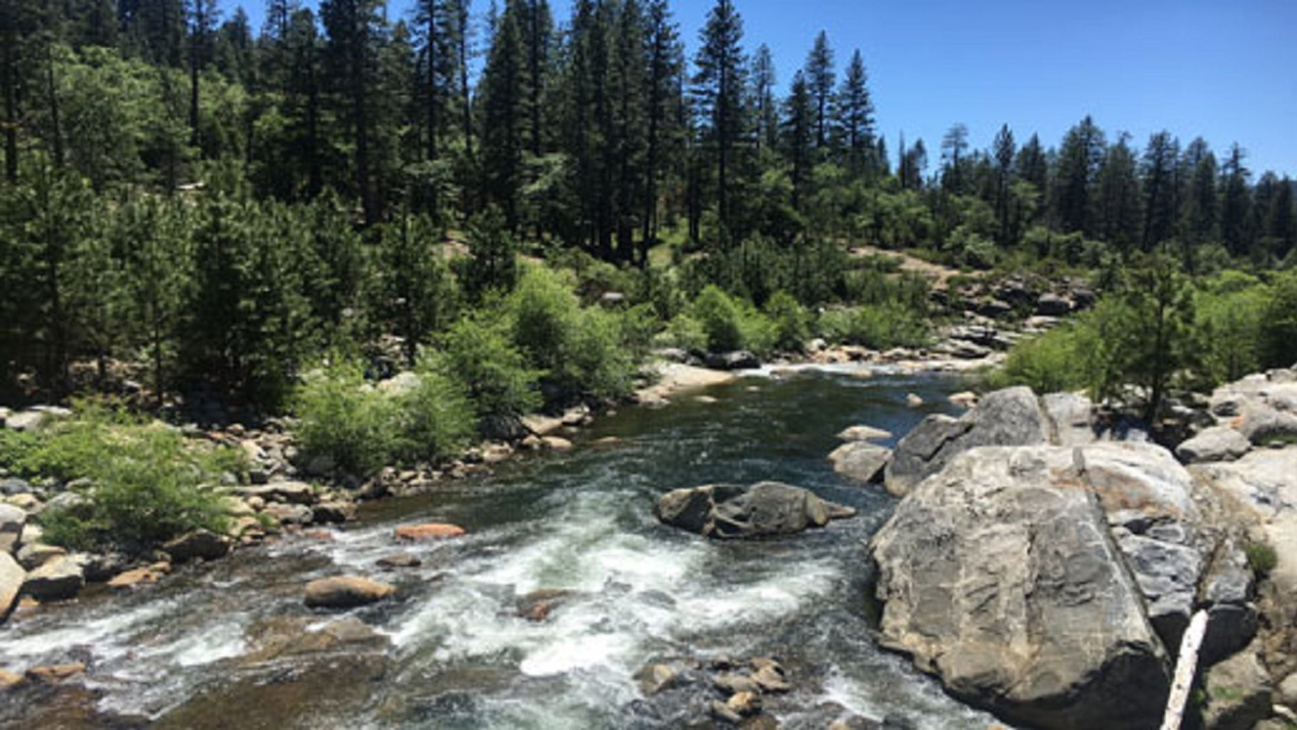 A 5-year-old girl identified as Matilda Ortiz slipped off some rocks and fell into the Stanislaus River in Northern California on Sunday afternoon, officials said.