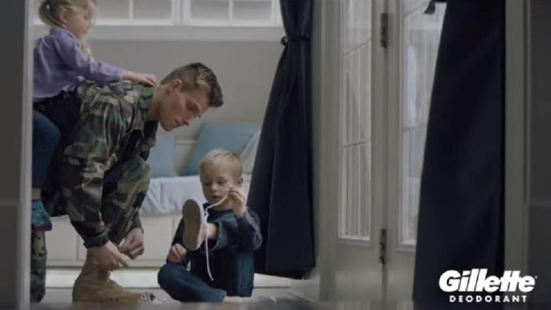Gillette's new campaign focuses on military service members