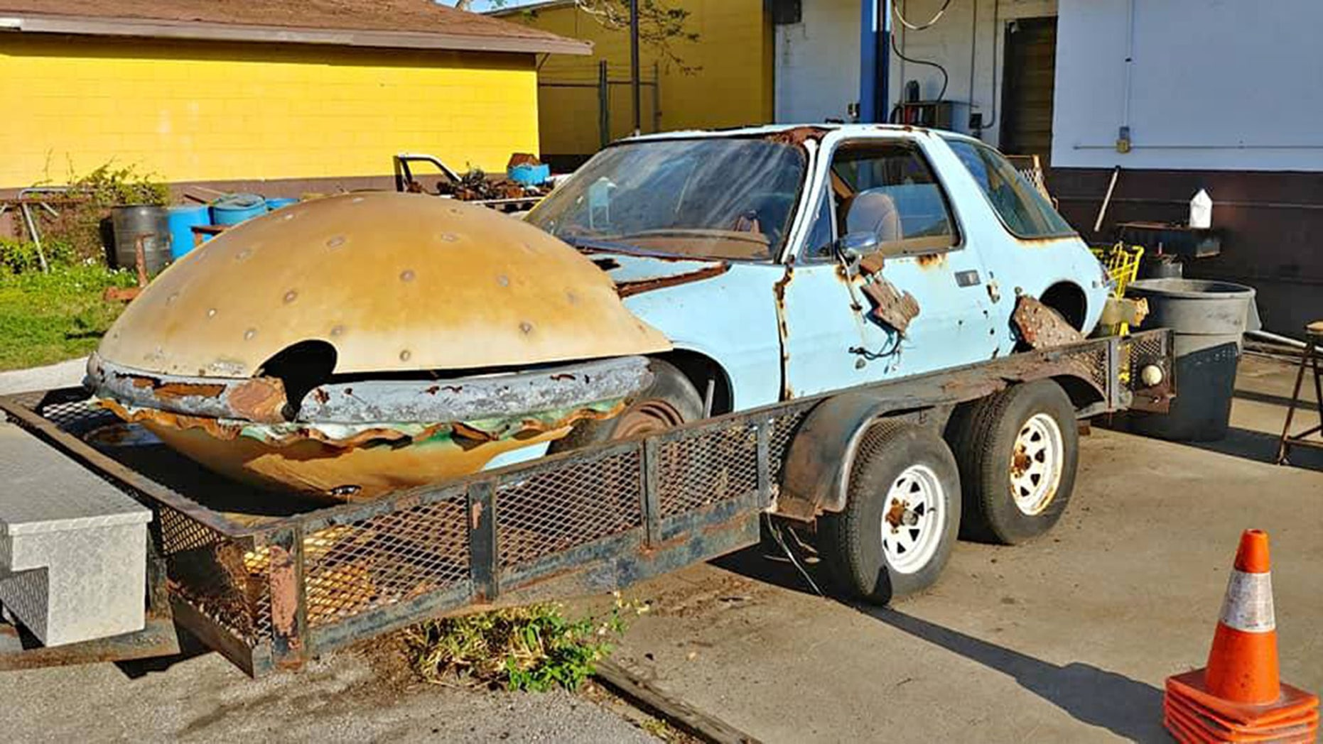 Good Car Movies: The Bizarre Car From 'Good Burger' Just Showed Up For Sale
