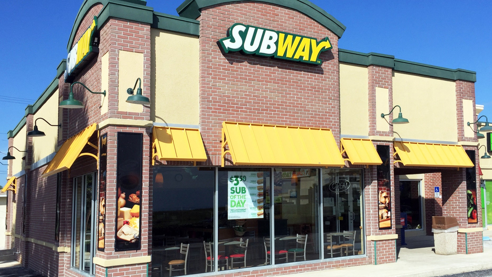 Tina Richardson claims the owner of a Concord, N.C., Subway shop assaulted her after she complained about an order.