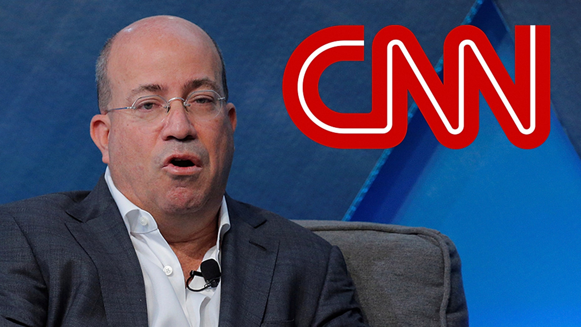 """CNN President Jeff Zucker made a sexualjoke about one of his female employees, """"New Day"""" anchor Alisyn Camerota,while accepting an award on Thursday. (REUTERS/Lucas Jackson)"""