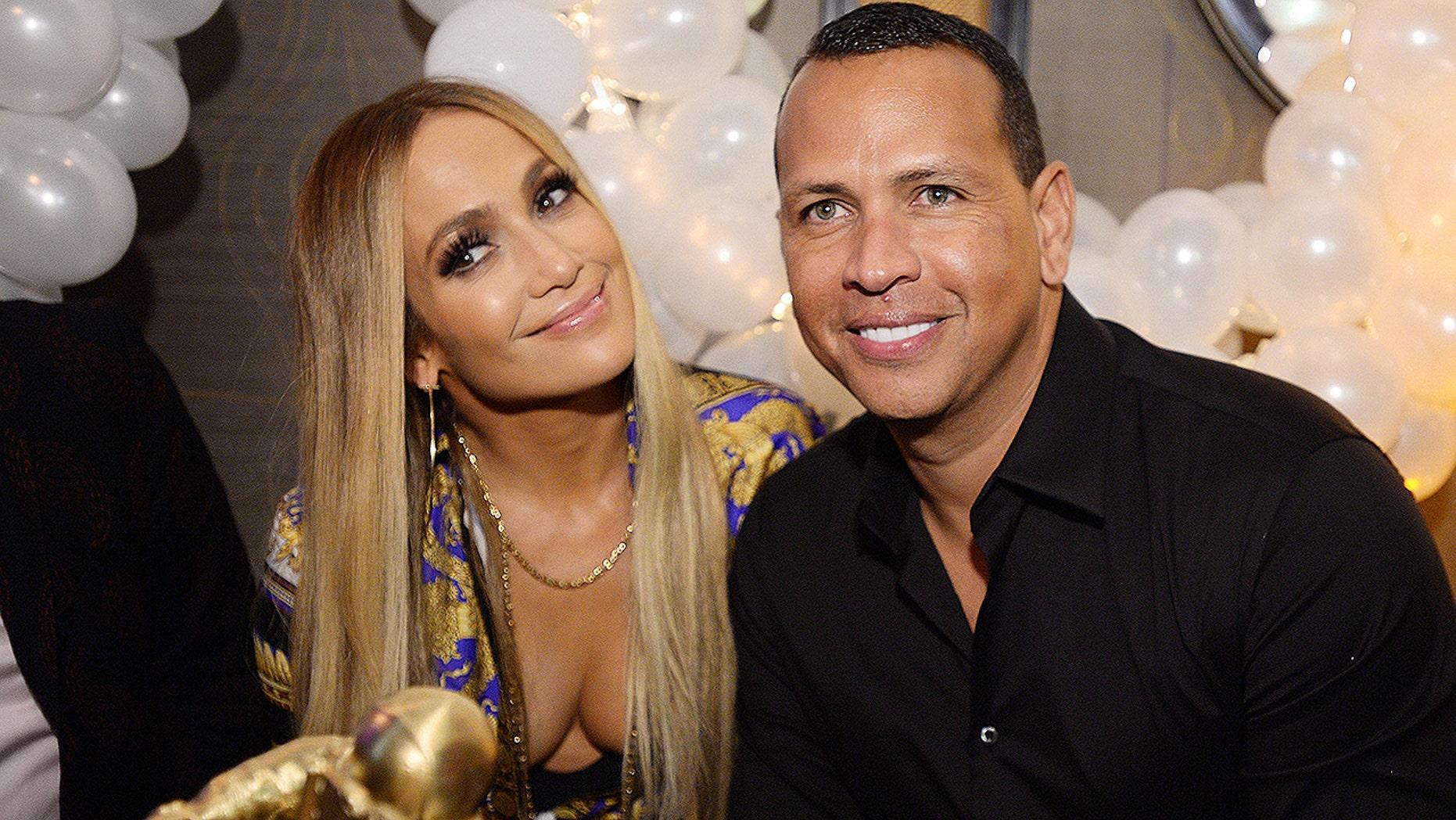 Alex Rodriguez Gushes Over 'Beautiful' Fiancee Jennifer Lopez