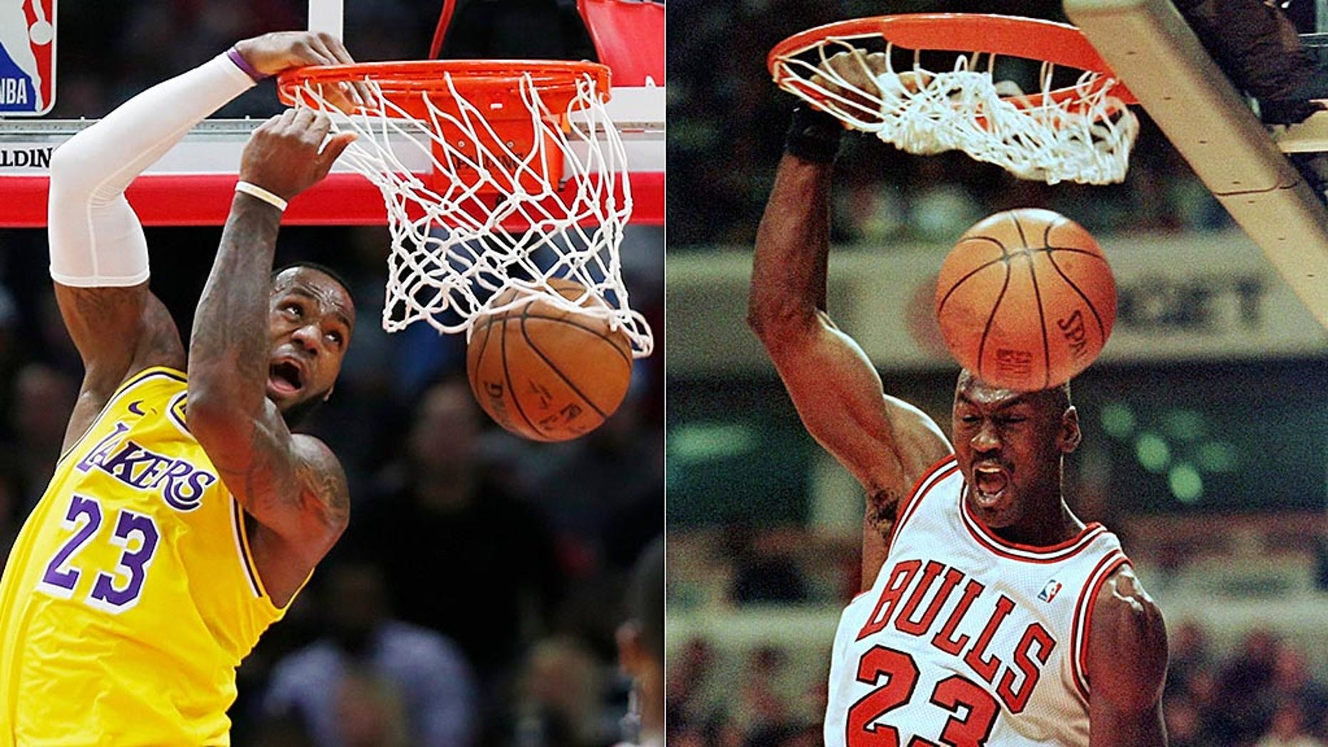 Basketball fans have voted on who is the best ever -- Michael Jordan or LeBron James