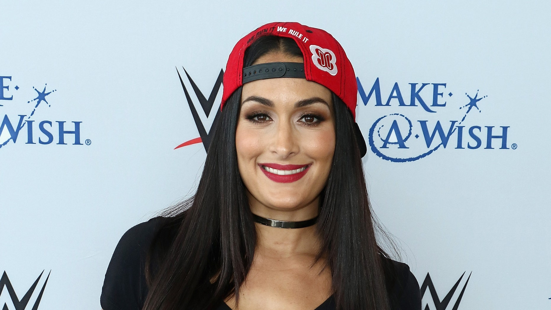 Nikki Bella attends the WWE Superstars Surprise Make-A-Wish Families at One World Observatory