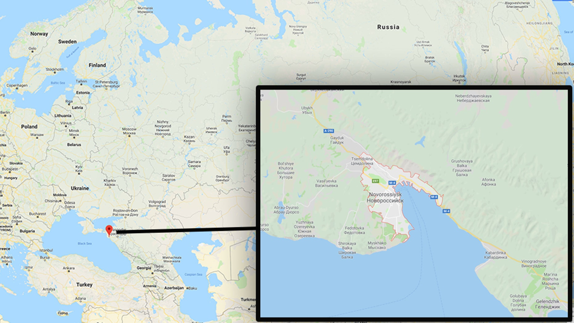 Two volunteers for the Church of Jesus Christ of Latter-day Saints were detained inNovorossiyk, Russia, church officials said.