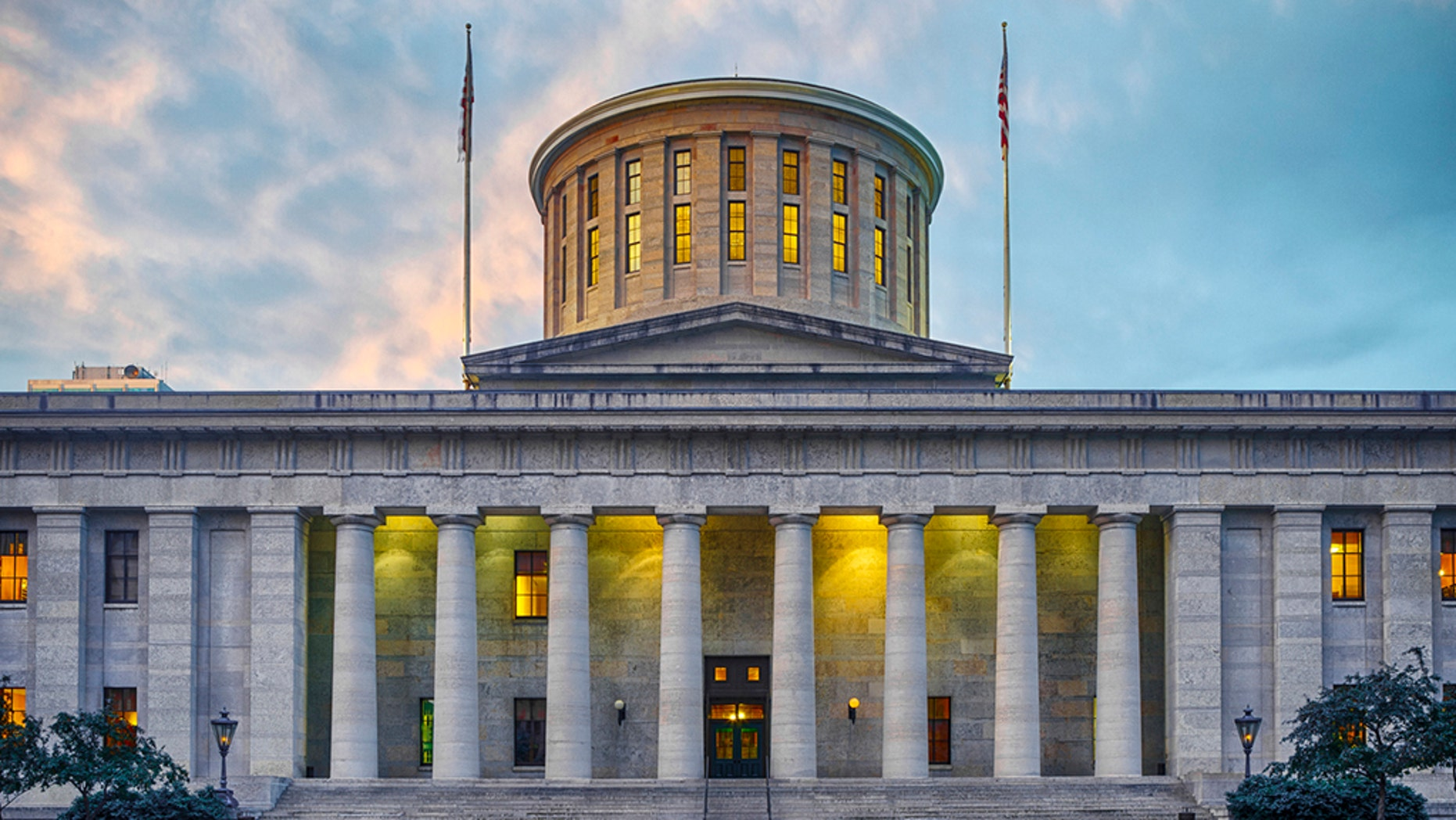 The Capitol Building for the state of Ohio.